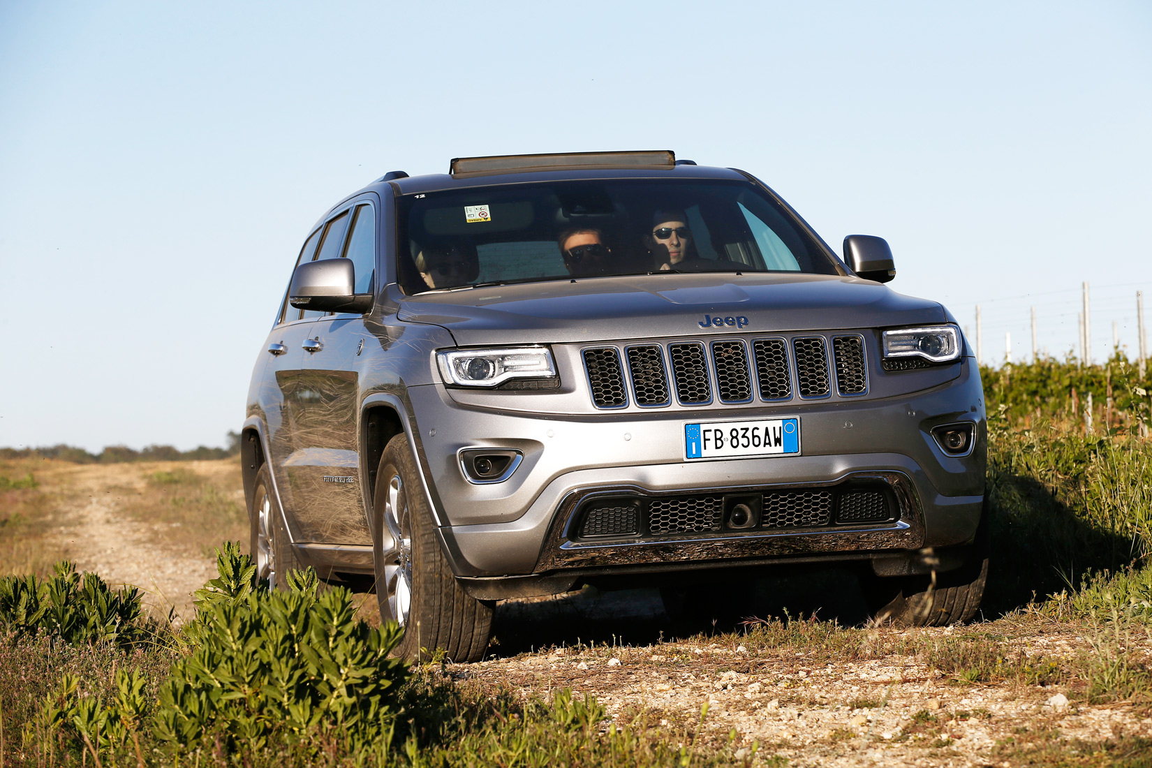 Simon Wittenberg ventures on and off-road in St.Tropez to try out Jeep's latest luxury SUV, the Grand Cherokee 3.0 V6 CRD Overland