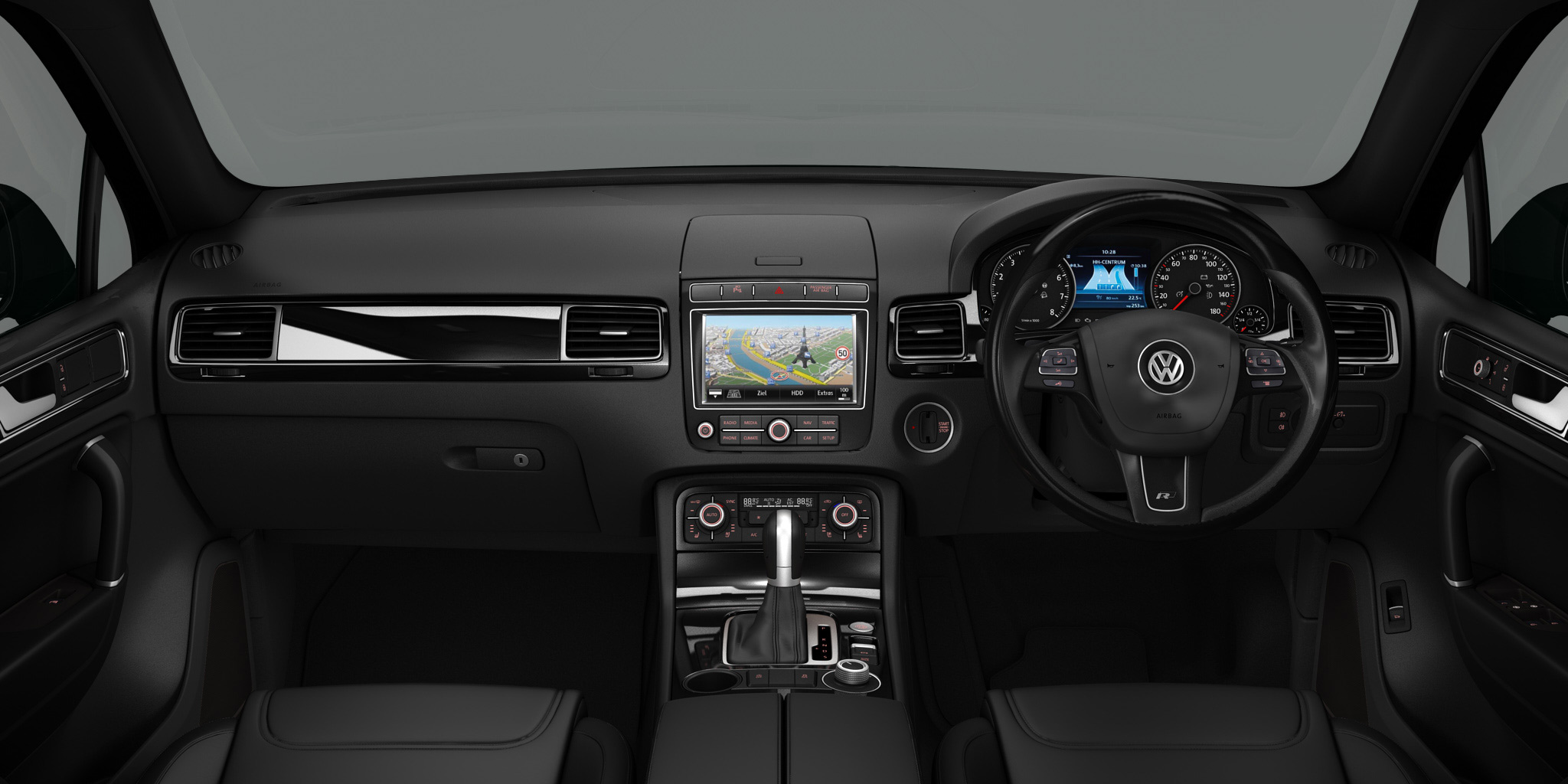 luxurious trim is added to new volkswagen touareg r line plus. Black Bedroom Furniture Sets. Home Design Ideas