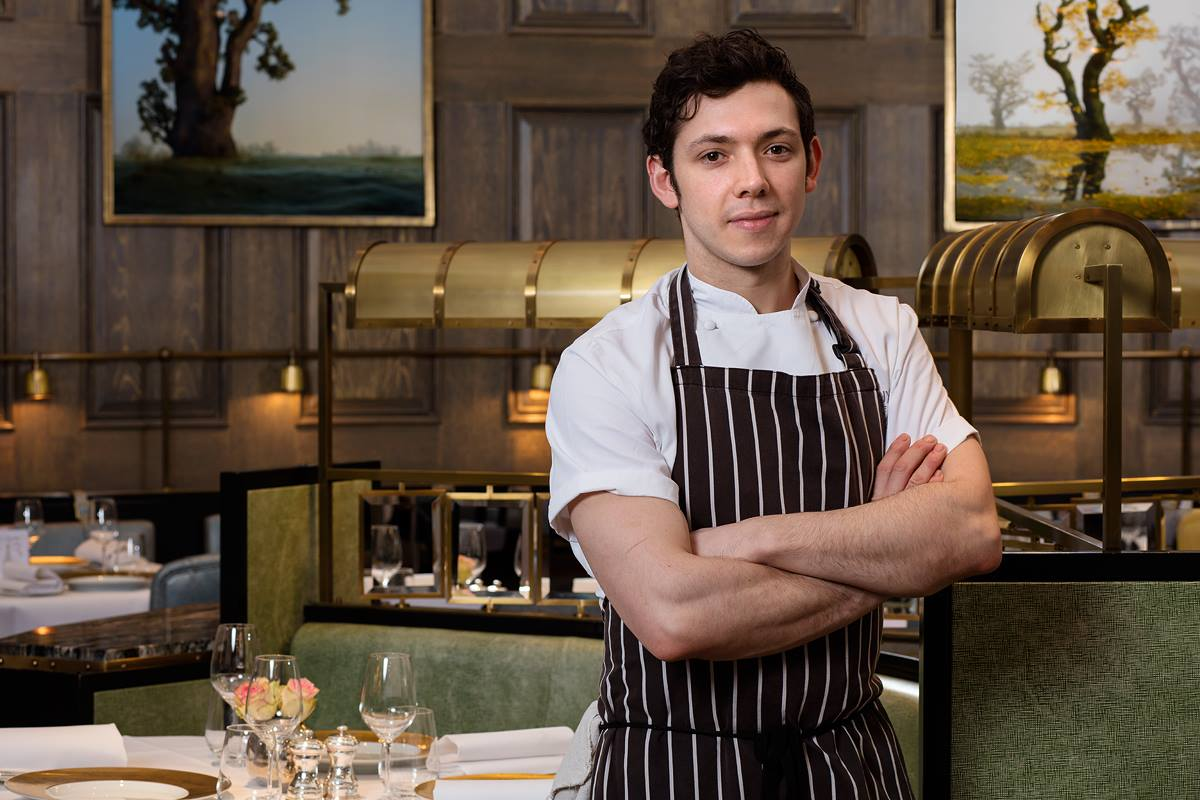 Oliver Boon Head Chef at Roux at The Landau