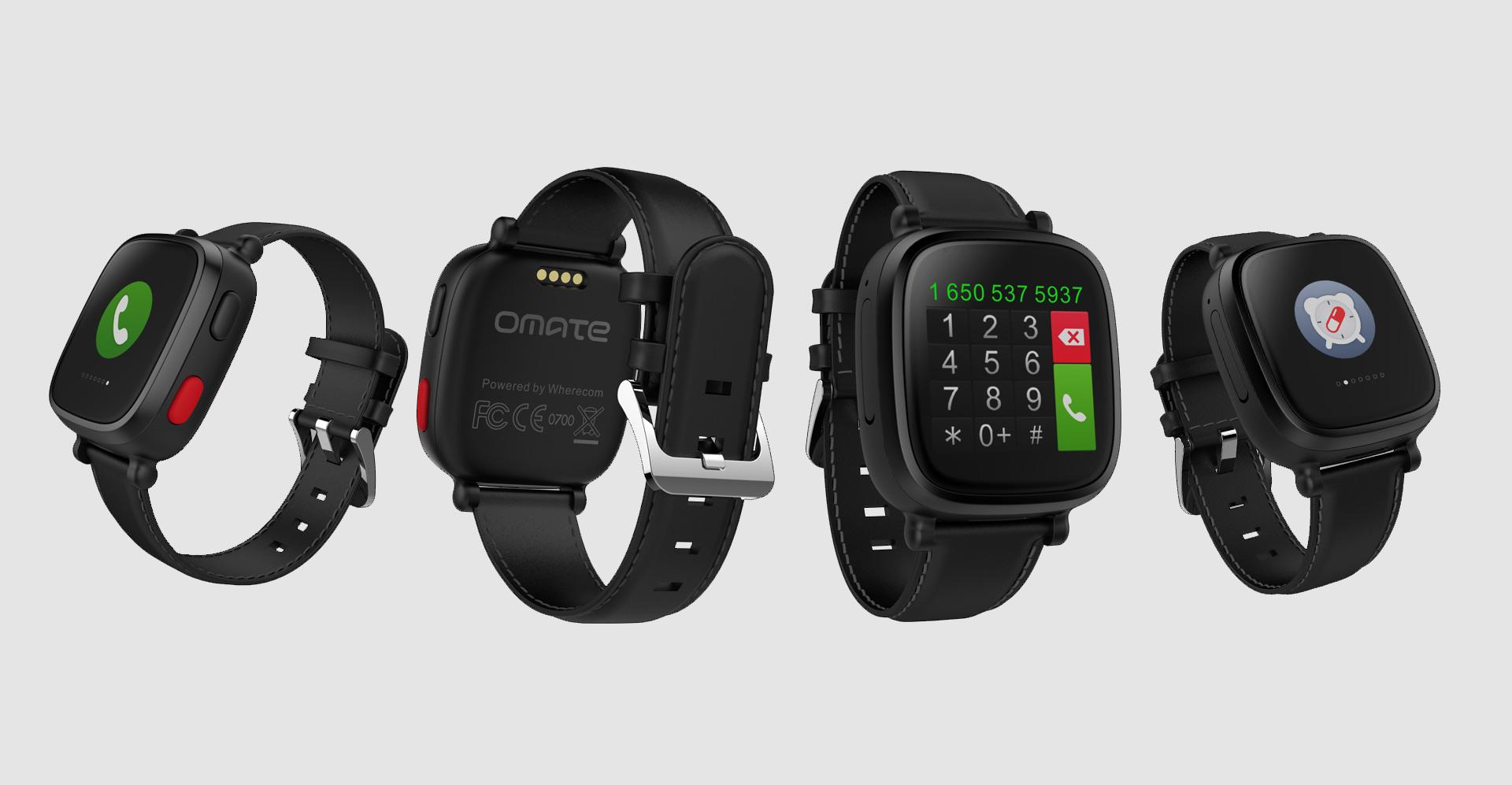 Omate Announces The Wherecom S3 A Dedicated Smartwatch For Seniors