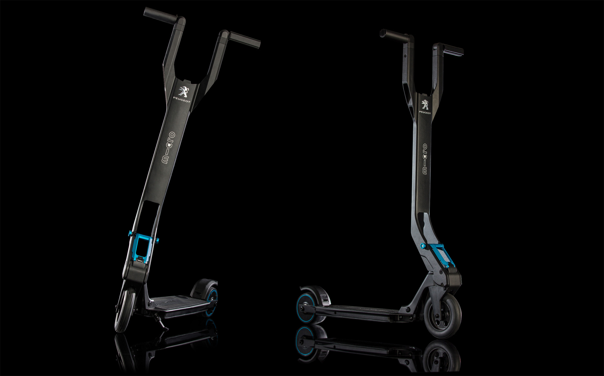 The e-Kick Electric Scooter From Peugeot And Micro