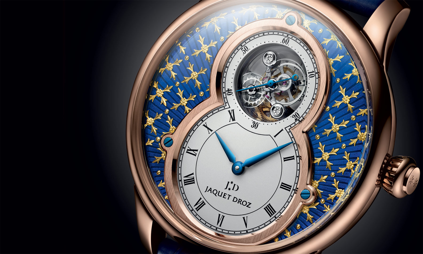 Jaquet Droz Pays Homage To The Art Of Paillonné Enameling