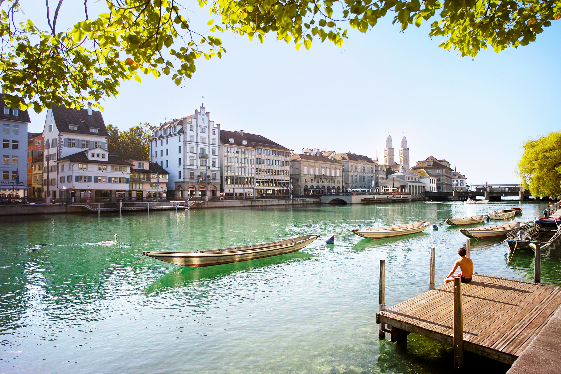 The Beauty Of Zurich From The Delightful Kameha Grand 10