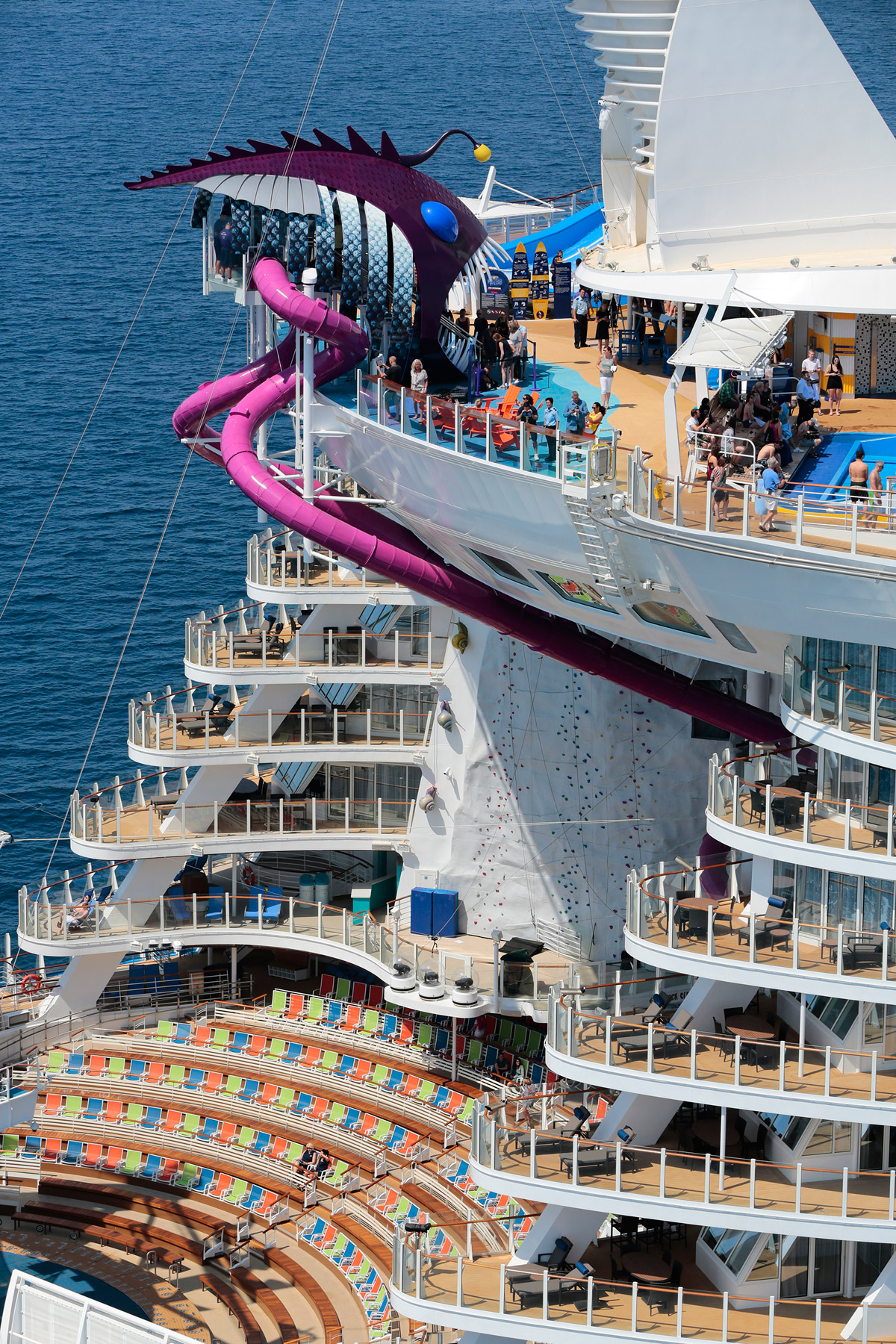 Ultimate Abyss – the tallest slide on the high seas