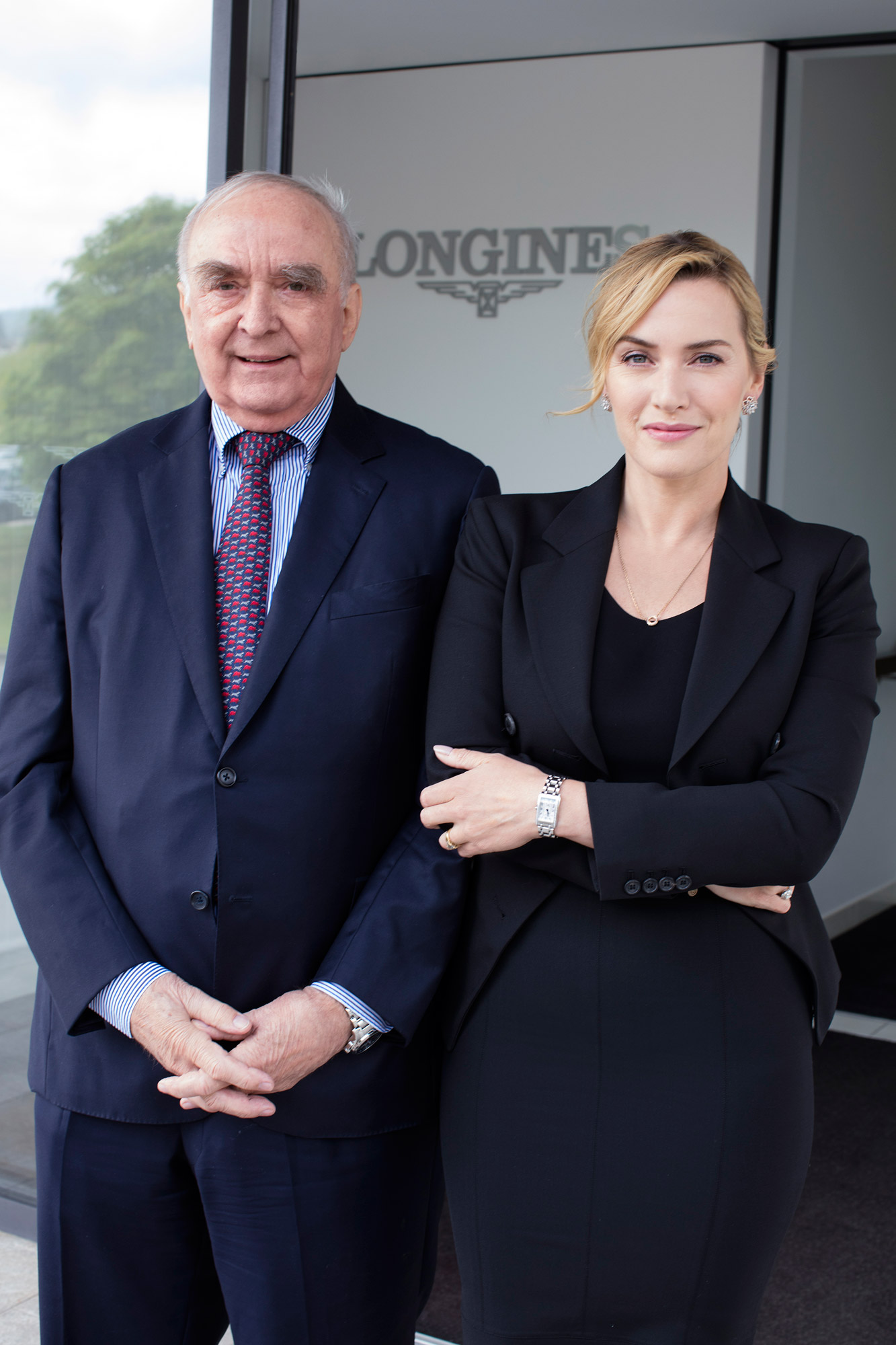 Switzerland Welcomes The Longines Ambassador Of Elegance Kate Winslett 6