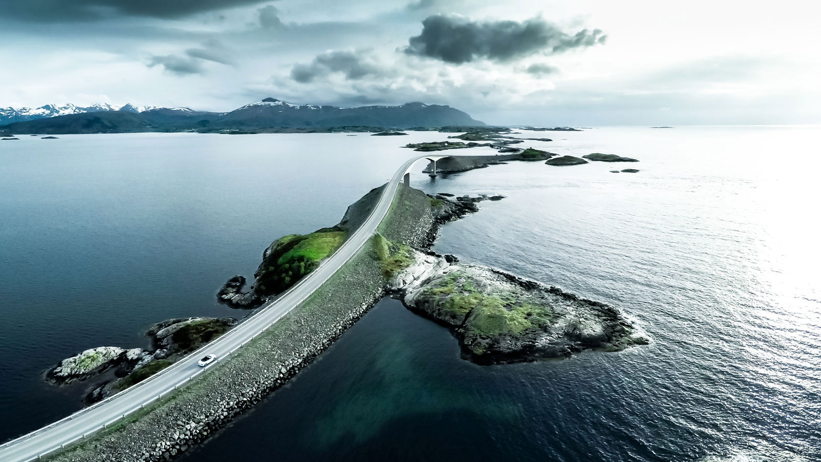 Atlantic Ocean Road In Norway Is The Best Road For A Summer Drive