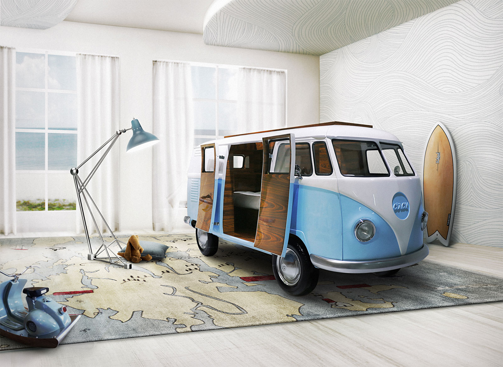 Three Amazing Beds For Children That Will Make Adults Jealous