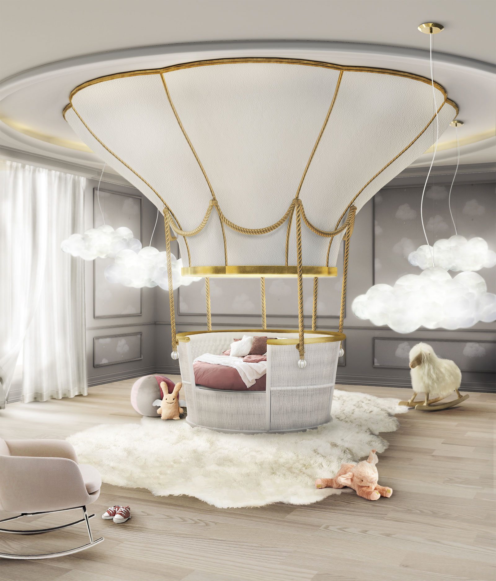 Three amazing beds for children that will make adults jealous for Cool kids bedroom designs