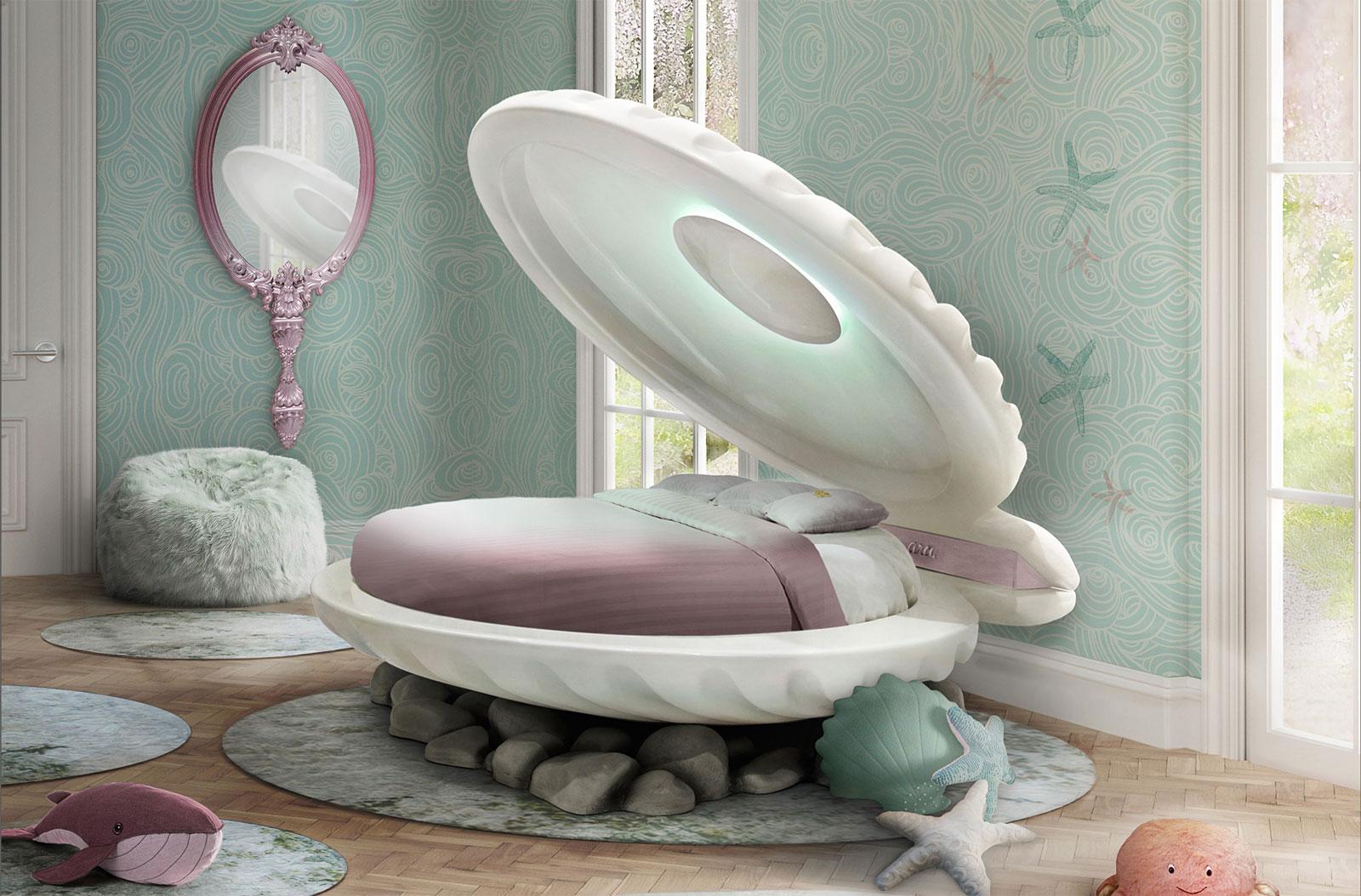 The Circu Little Mermaid Bed