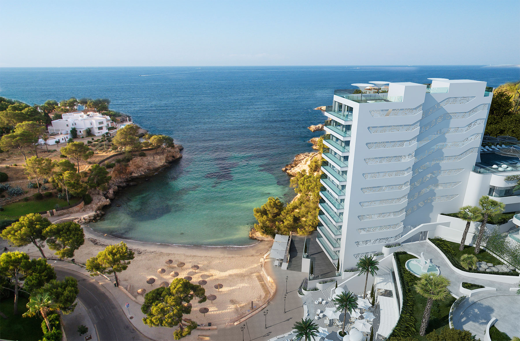 The iberostar grand hotel portals nous in majorca for Designhotel palma
