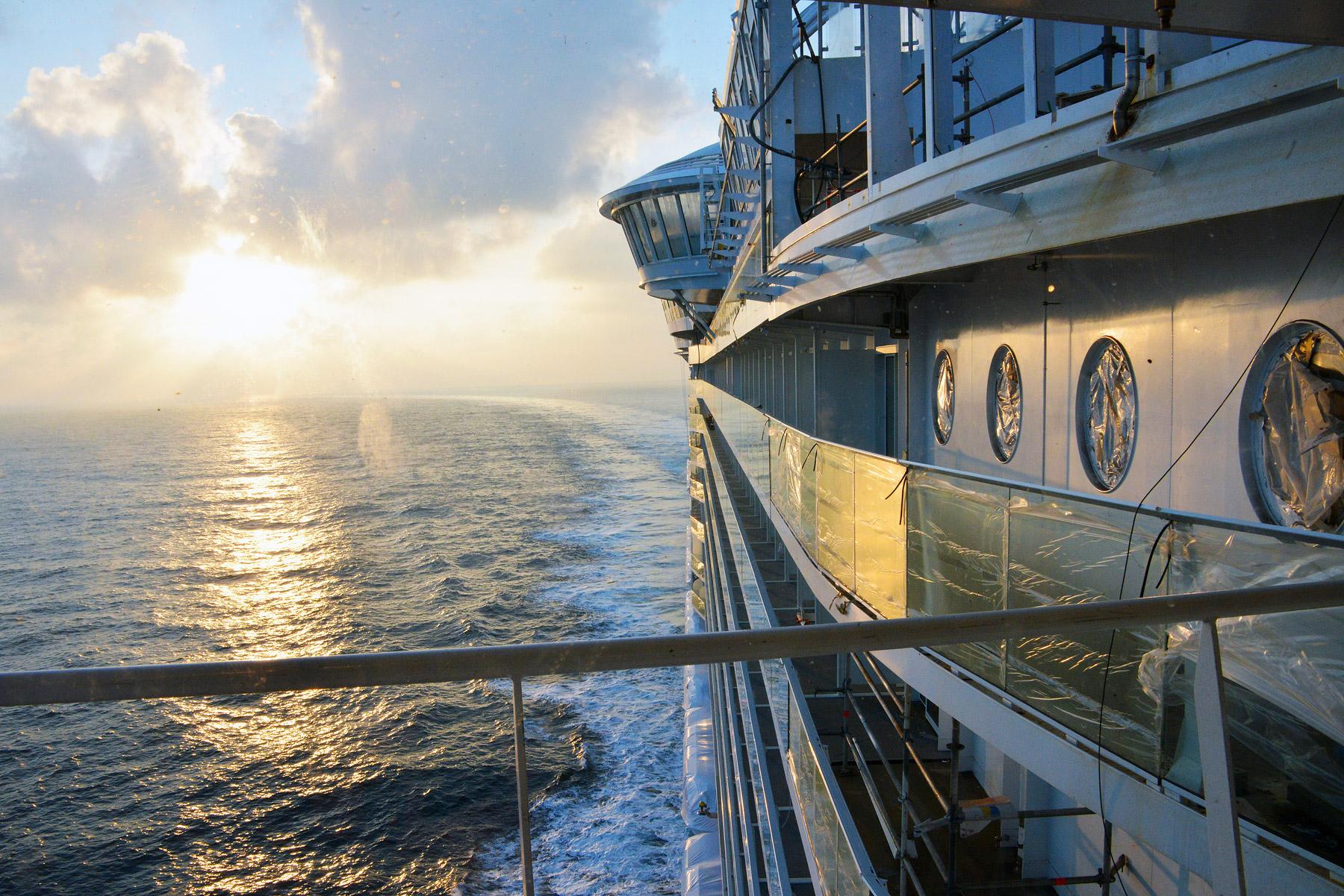 Royal Caribbean 39 S Harmony Of The Seas Pre Inaugural Sailing