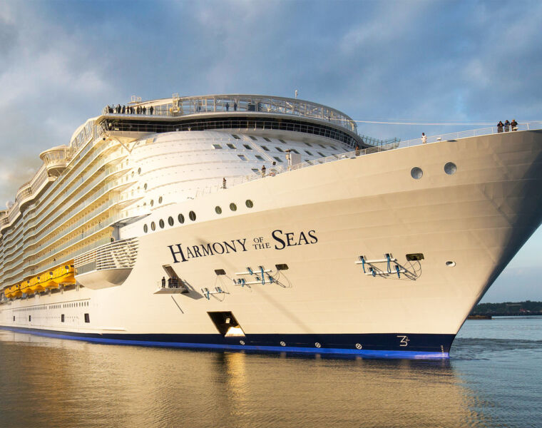 We Join Royal Carribbean For Harmony Of The Seas Pre-inaugural Sailing