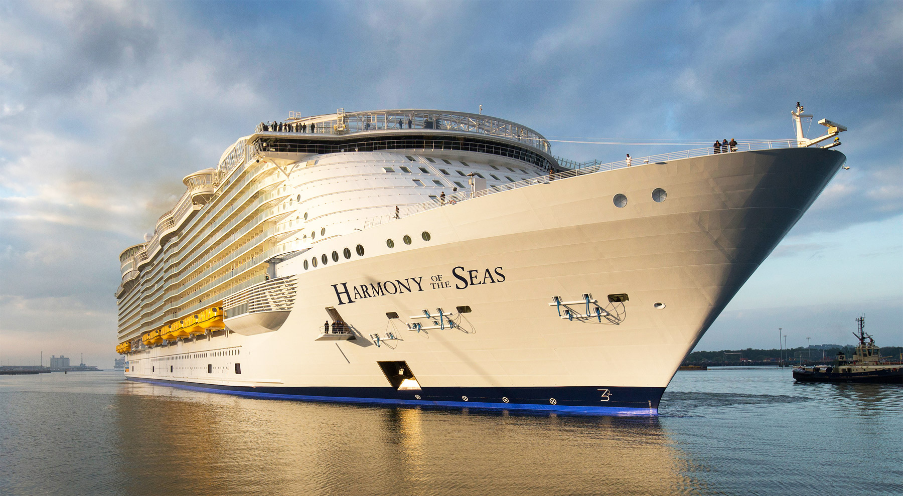 Royal Caribbean S Harmony Of The Seas Pre Inaugural Sailing
