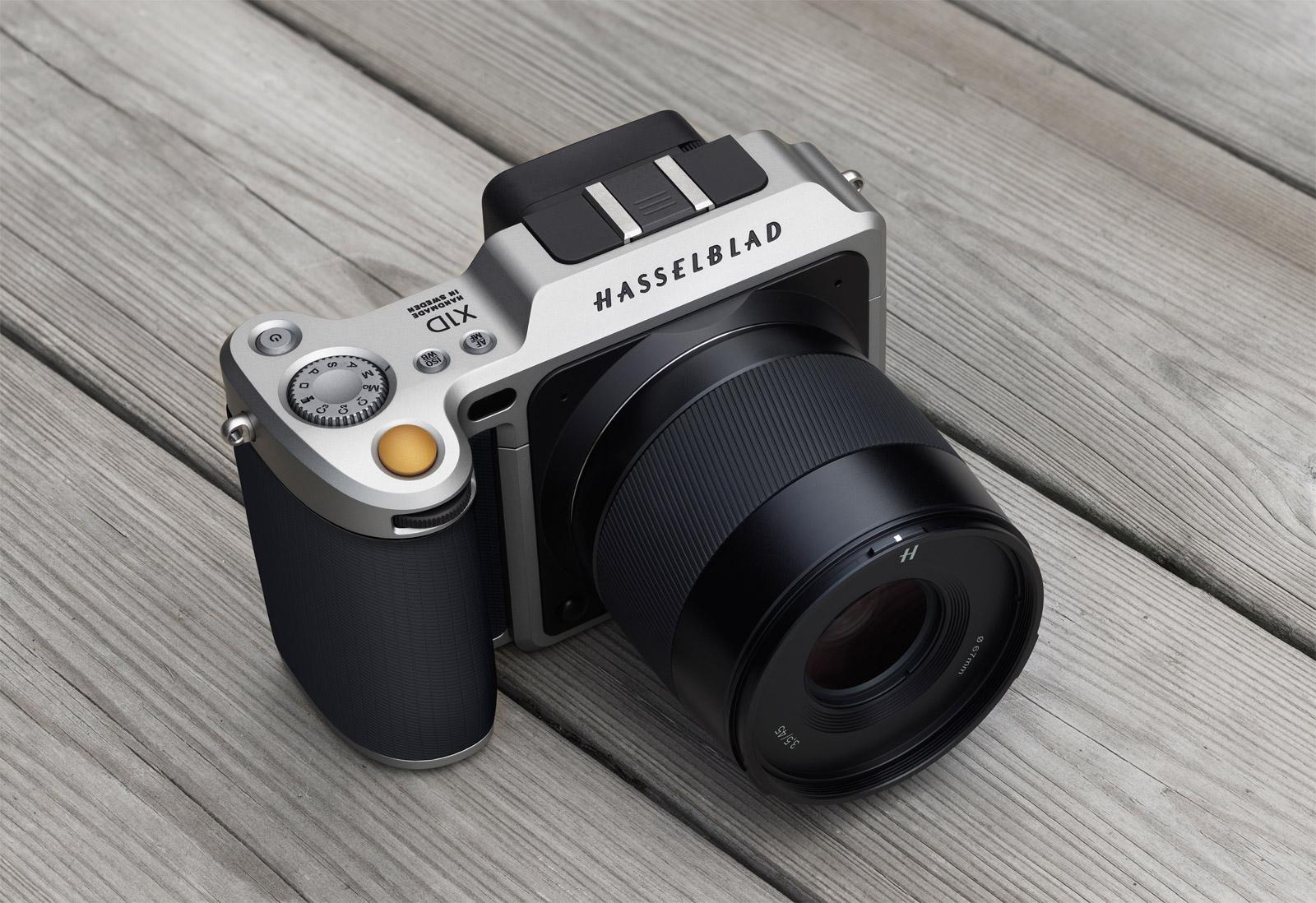 Hasselblad X1D The World's First Compact Mirrorless Digital Medium Format Camera 4