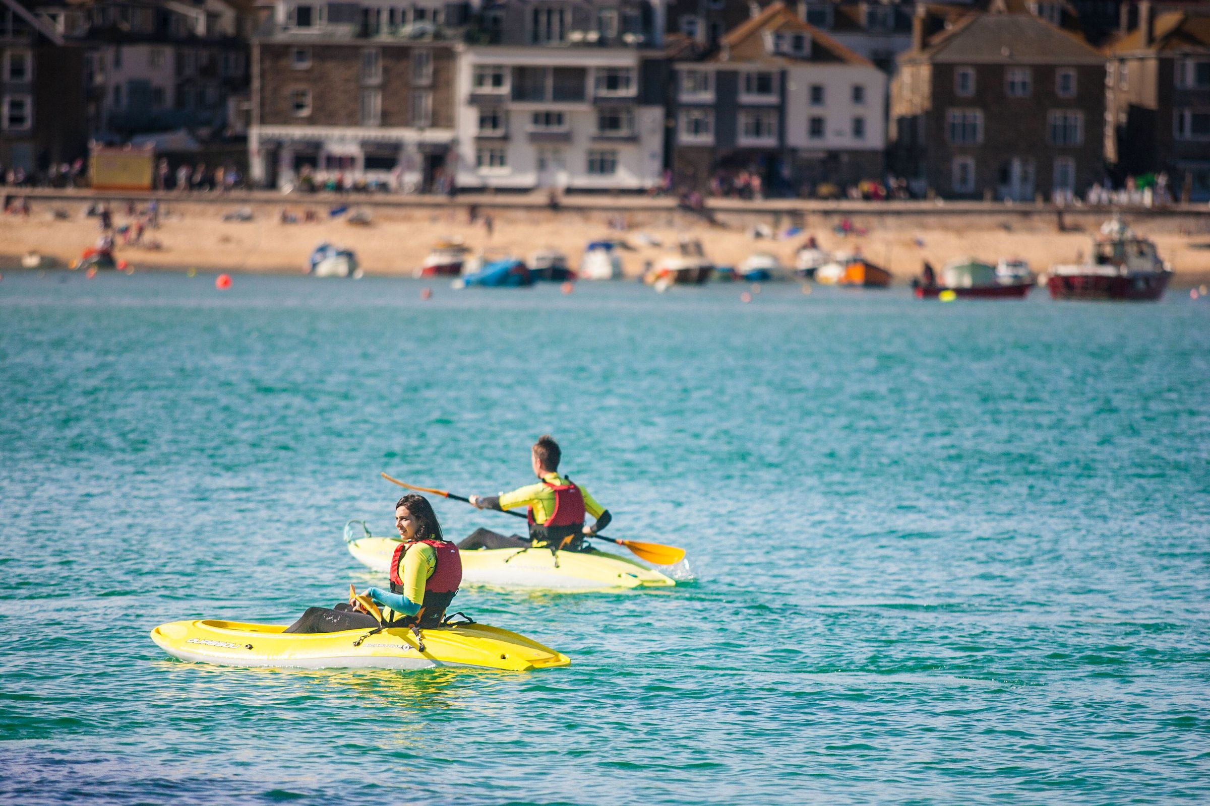 Kayaking in St Ives