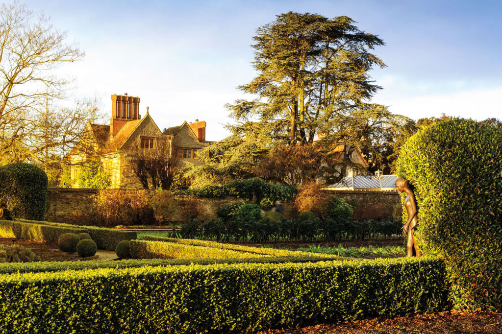 Photograph showing the stunning grounds