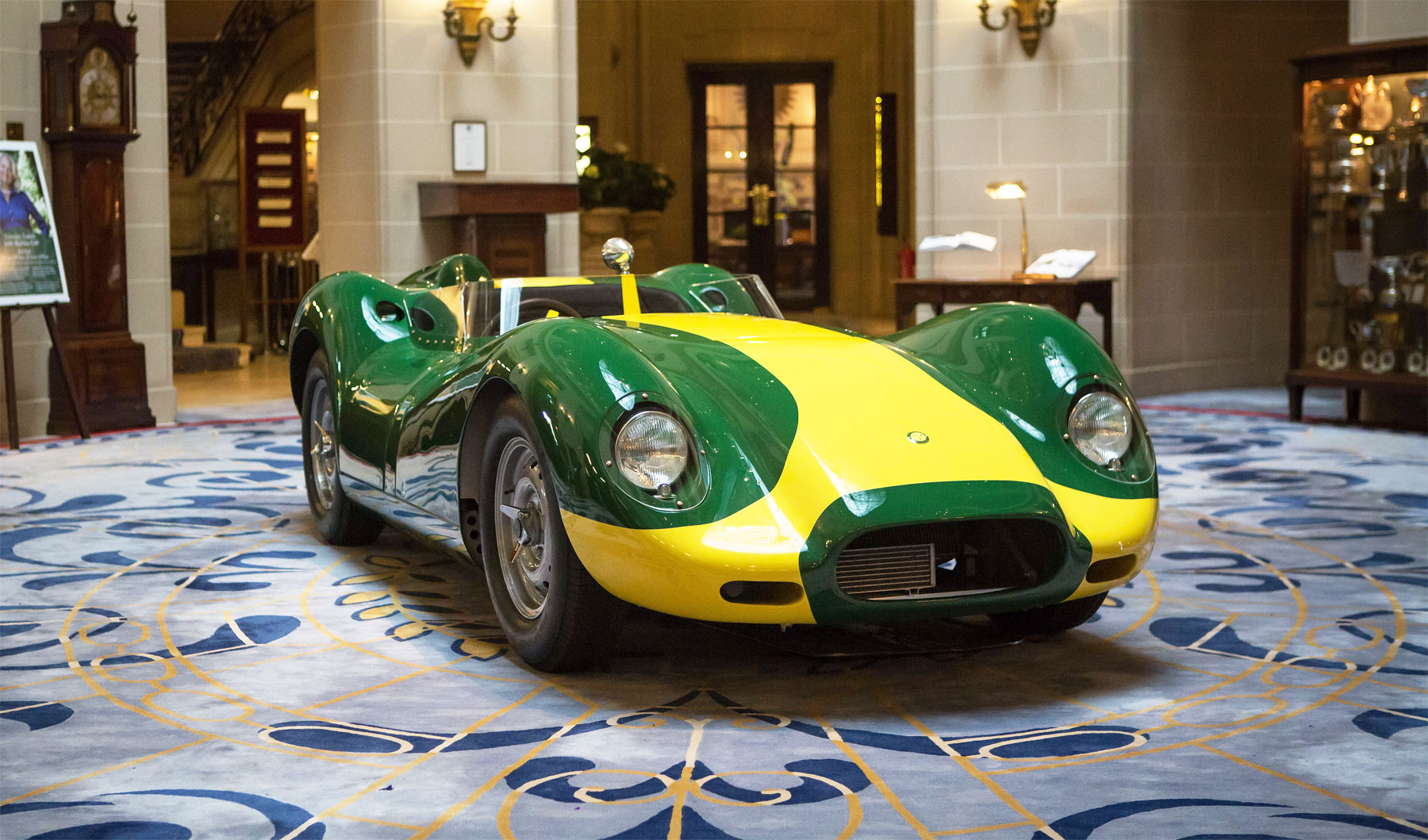 The £1 million+ Special Edition Lister Knobbly Jaguar Stirling Moss
