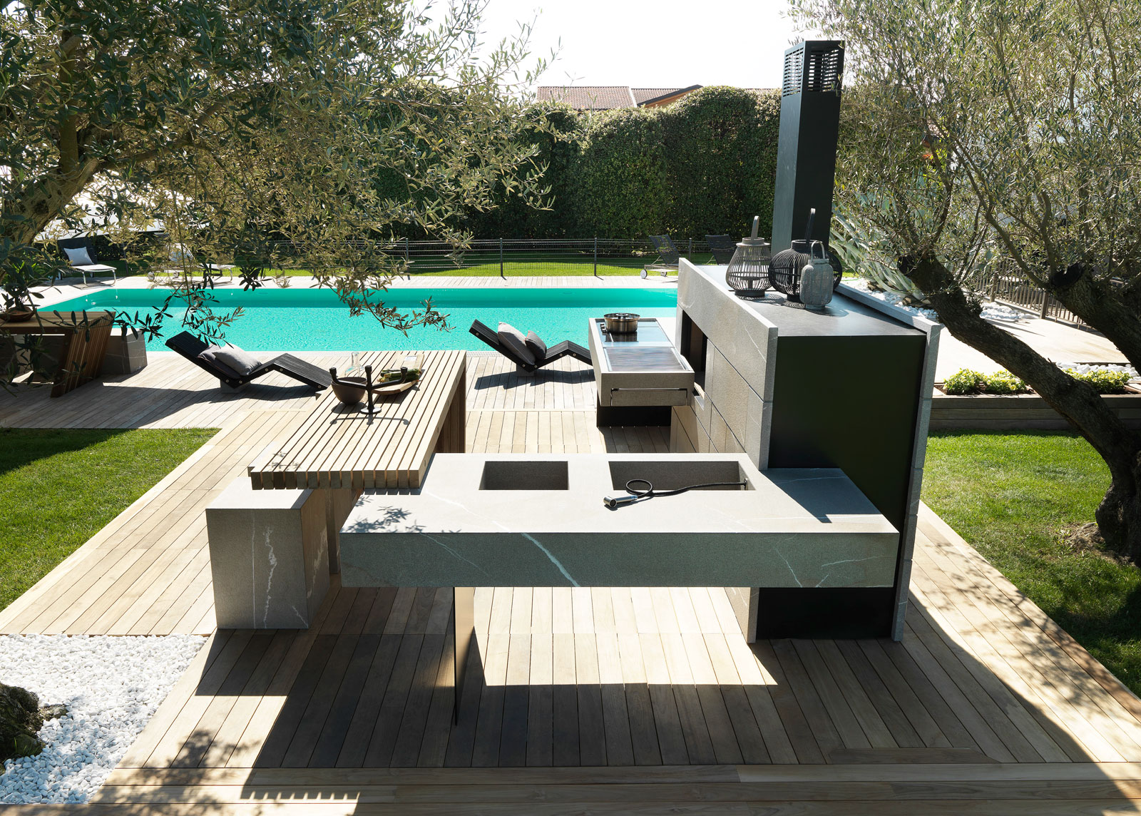 Bring The Inside Outside With The Modulnova Outdoor Kitchen