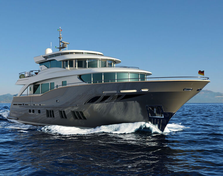 The Latest Navetta 26 from The Filippetti Yacht Shipyard In Italy