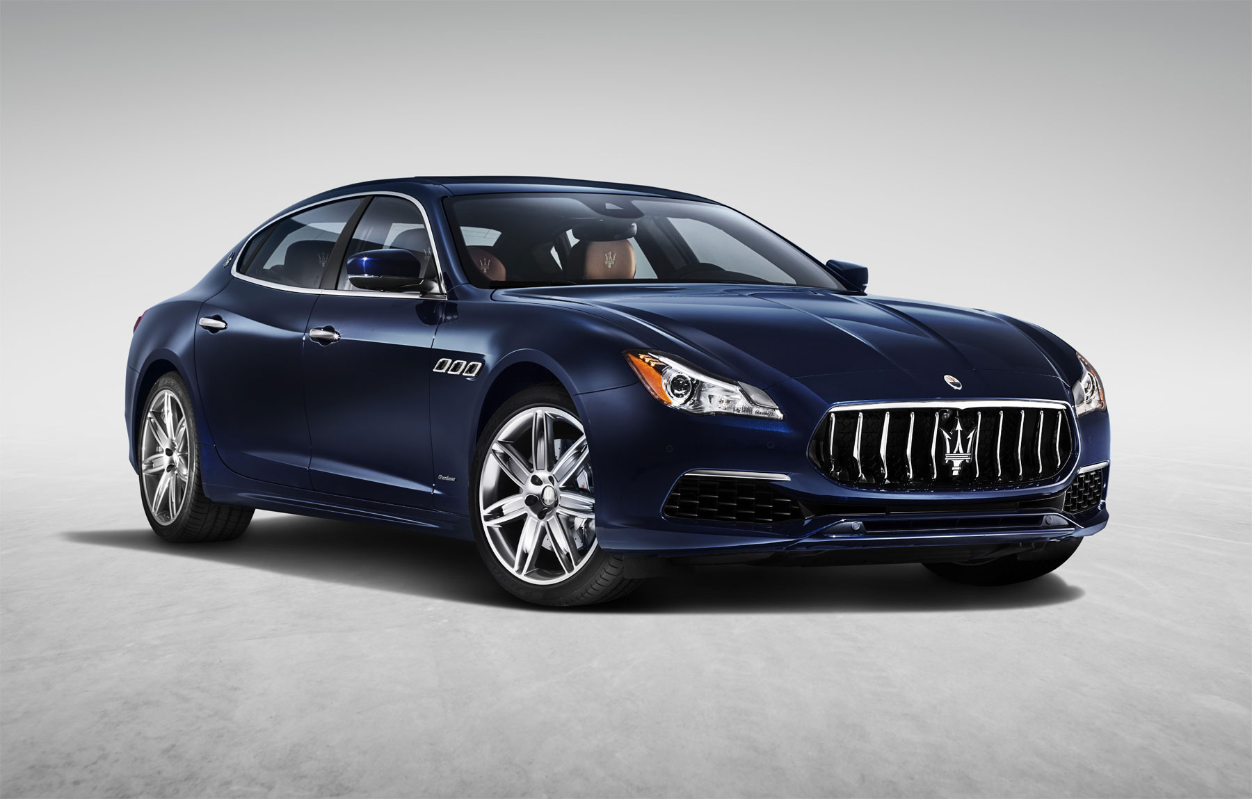 New Restyled Maserati Quattroporte With Extra Refinement And High-Tech Features