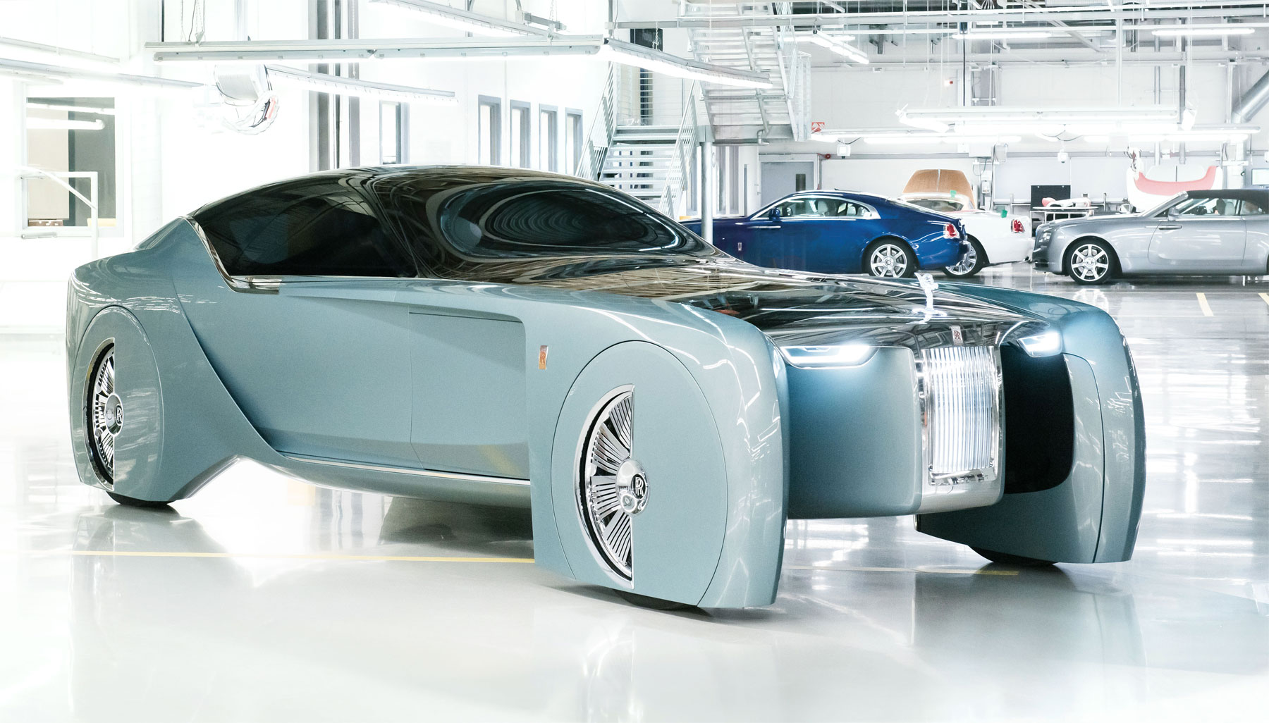 Rolls-Royce Motor Cars Offer A glimpse Of The Future With The 103EX