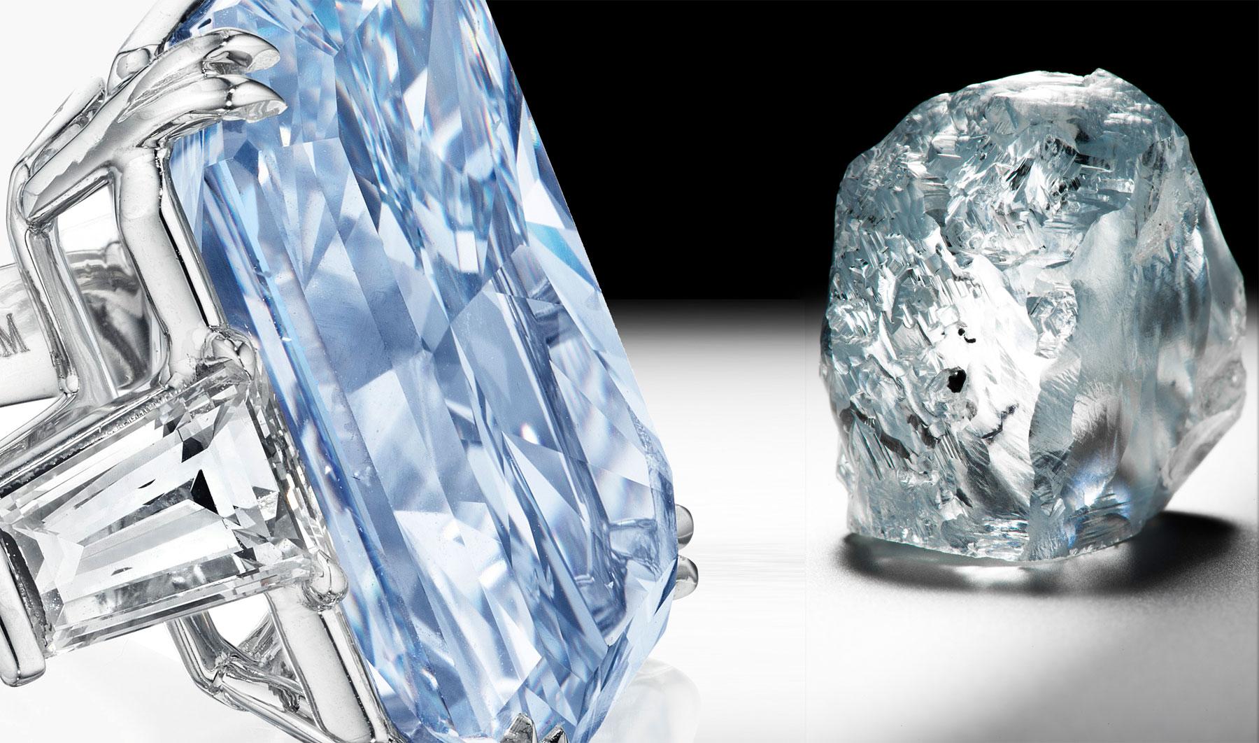 Blue Diamond – The Cullinan Dream Sells For $25,365,000