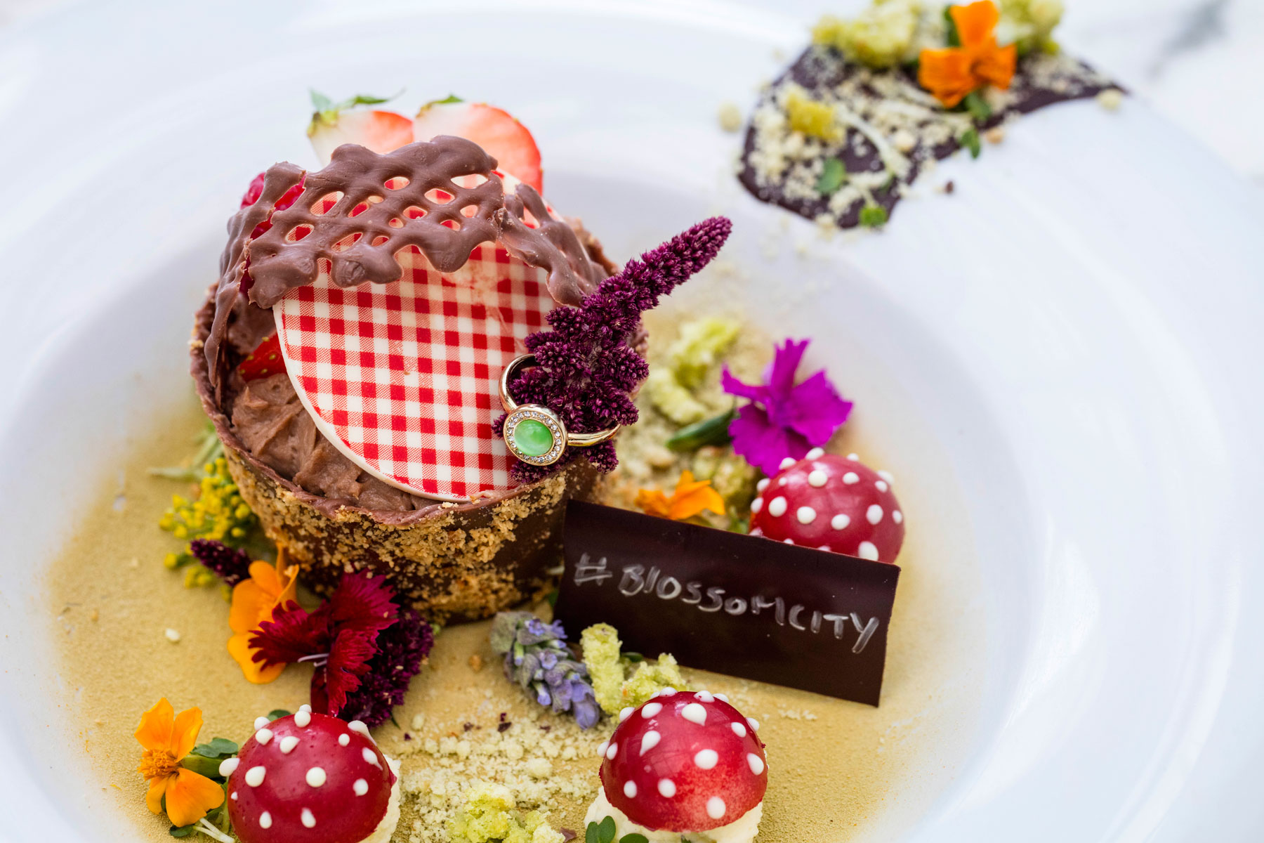 New Blossom City Tasting Menu At The Plateau In Canary Wharf 10