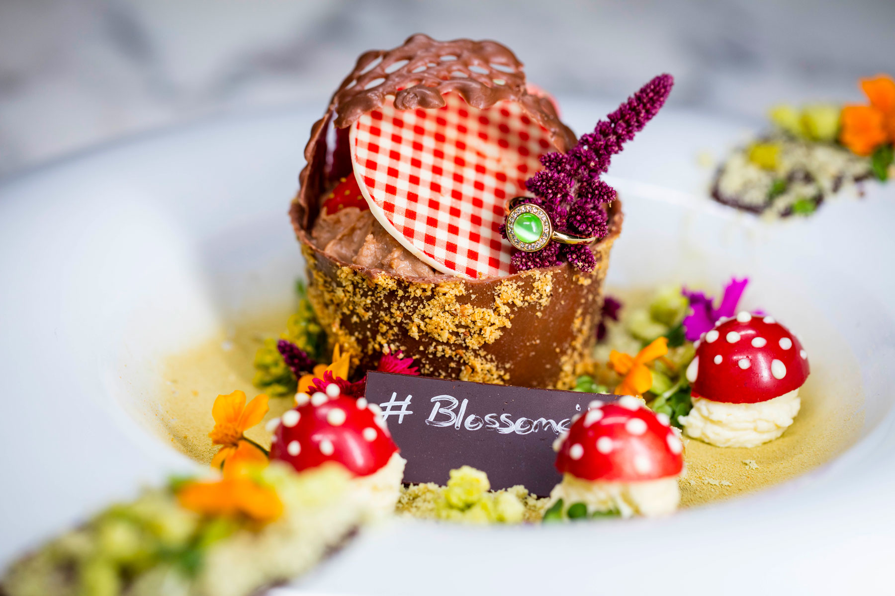 New Blossom City Tasting Menu At The Plateau In Canary Wharf
