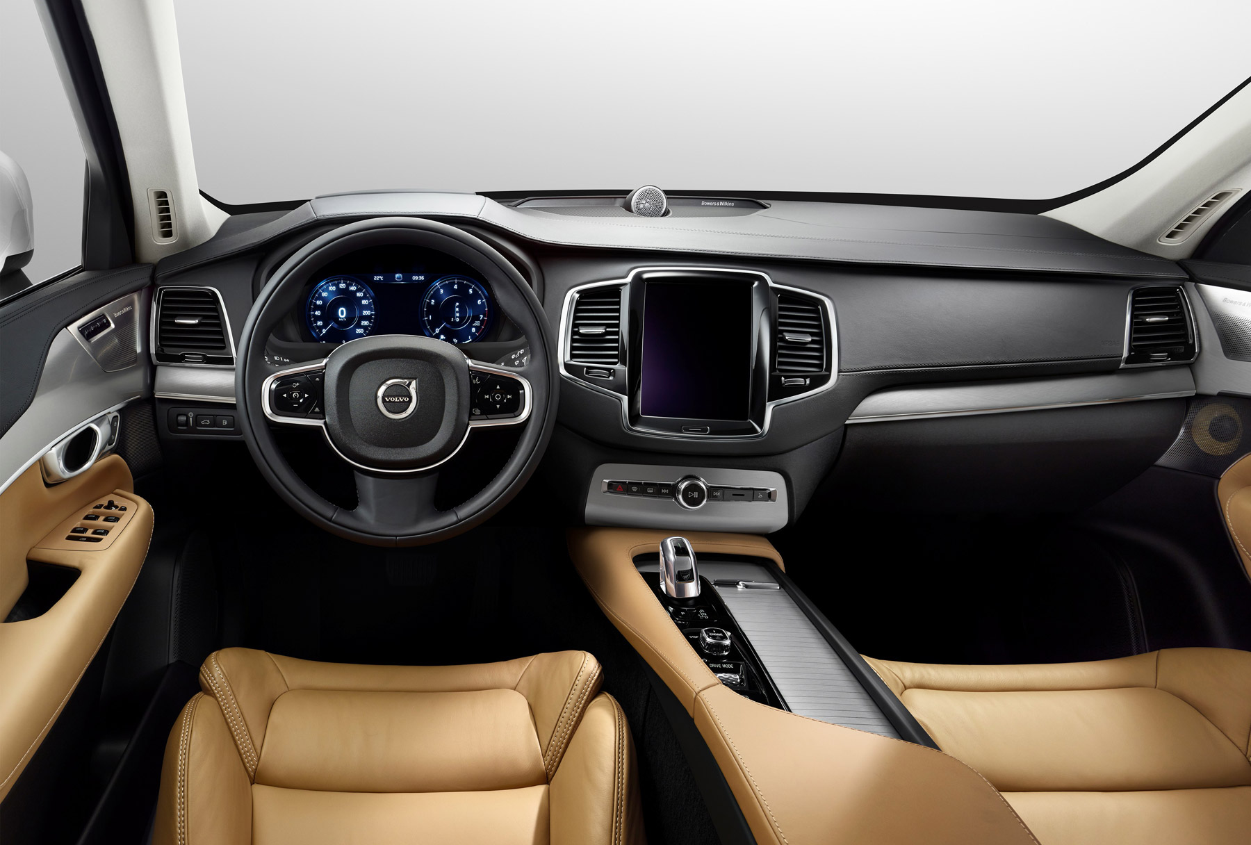 Behind the wheel of the Volvo XC90 T8