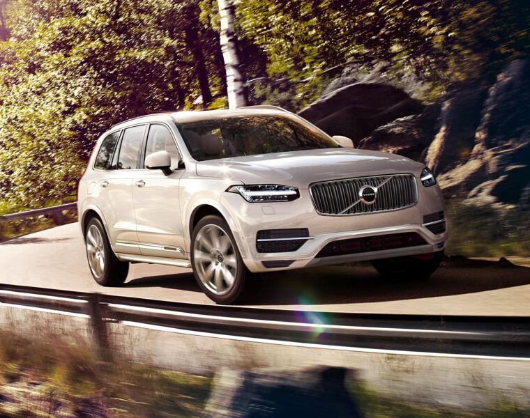 Road Test On Volvo's Award-Winning XC90 T8 Plug-in Hybrid 1