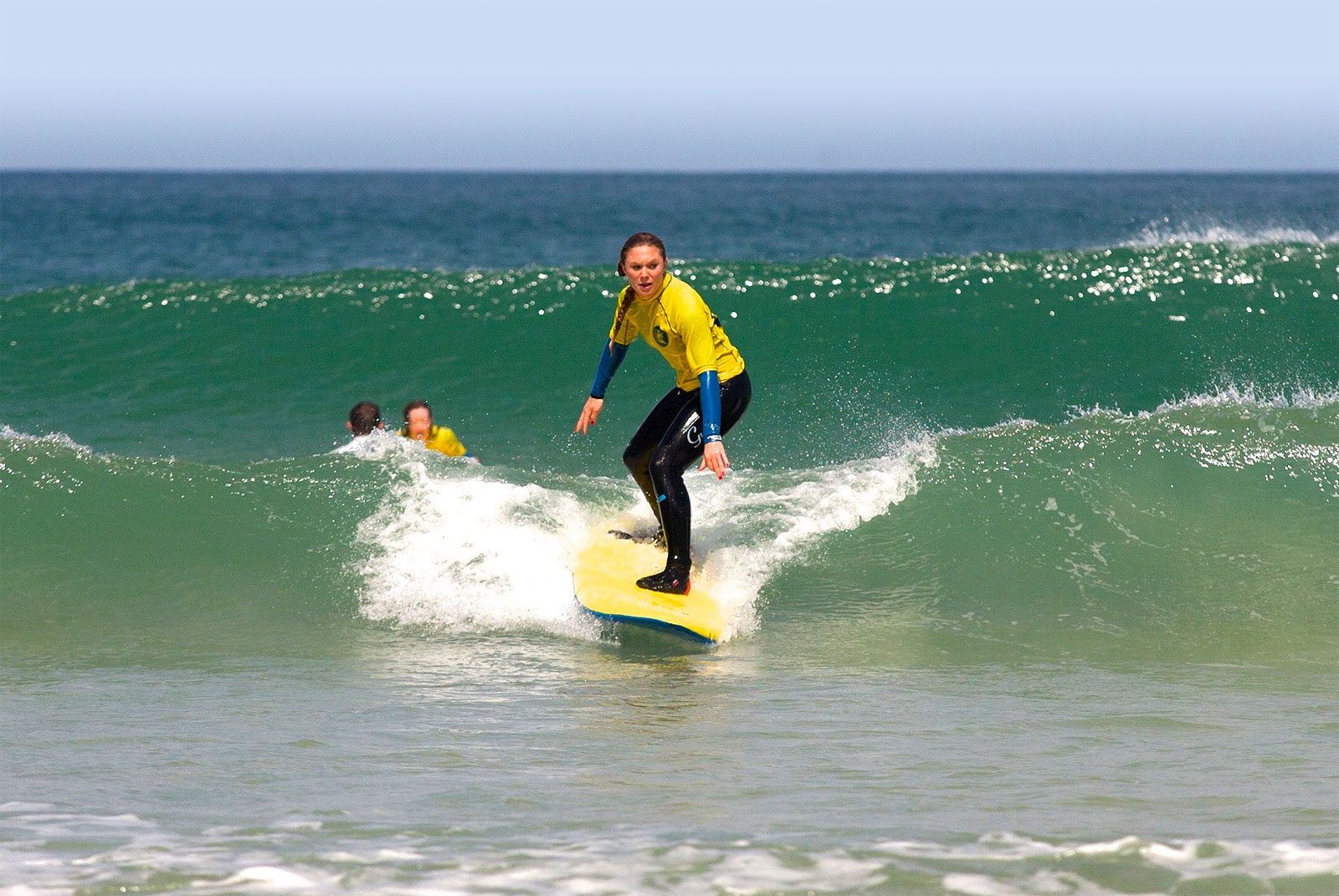 Private surfing lessons in St Ives