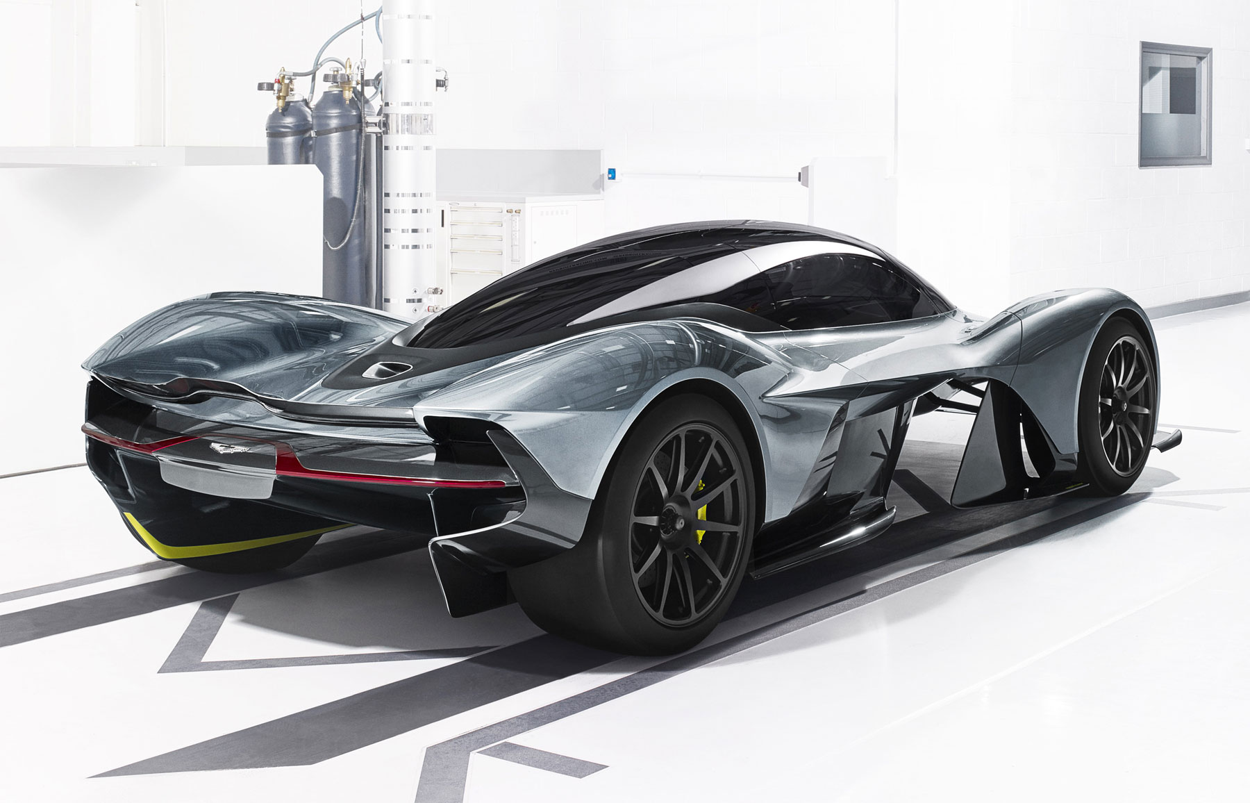 The Aston Martin And Red Bull Racing AM-RB 001 hypercar