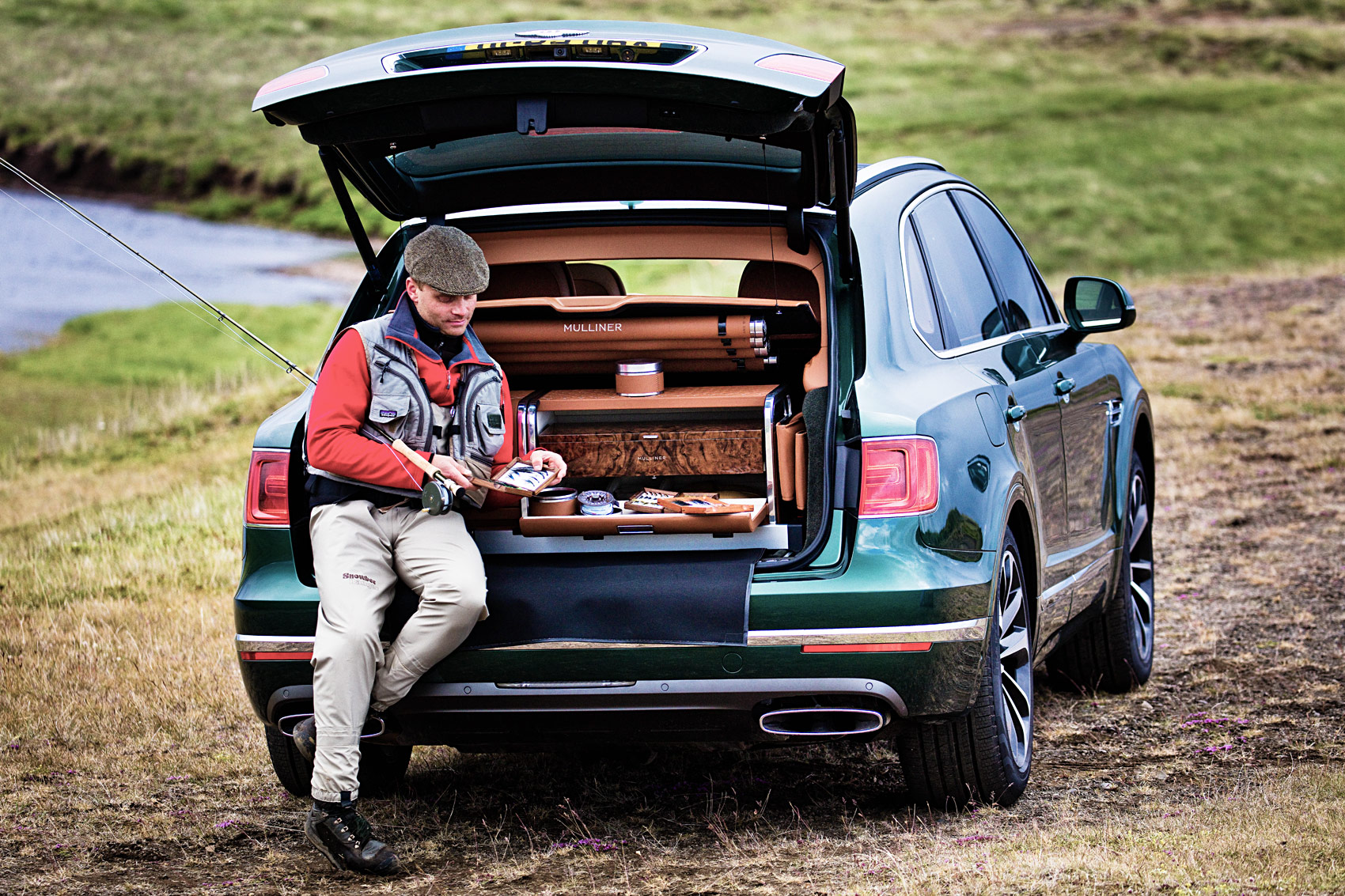 Bentley's Fly Fishing by Mulliner Bentayga – The Ultimate Fishermans Friend