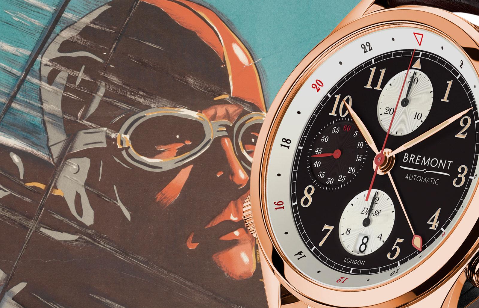 Bremont Celebrates The de Havilland DH-88 Comet With Limited Edition Wristwatch