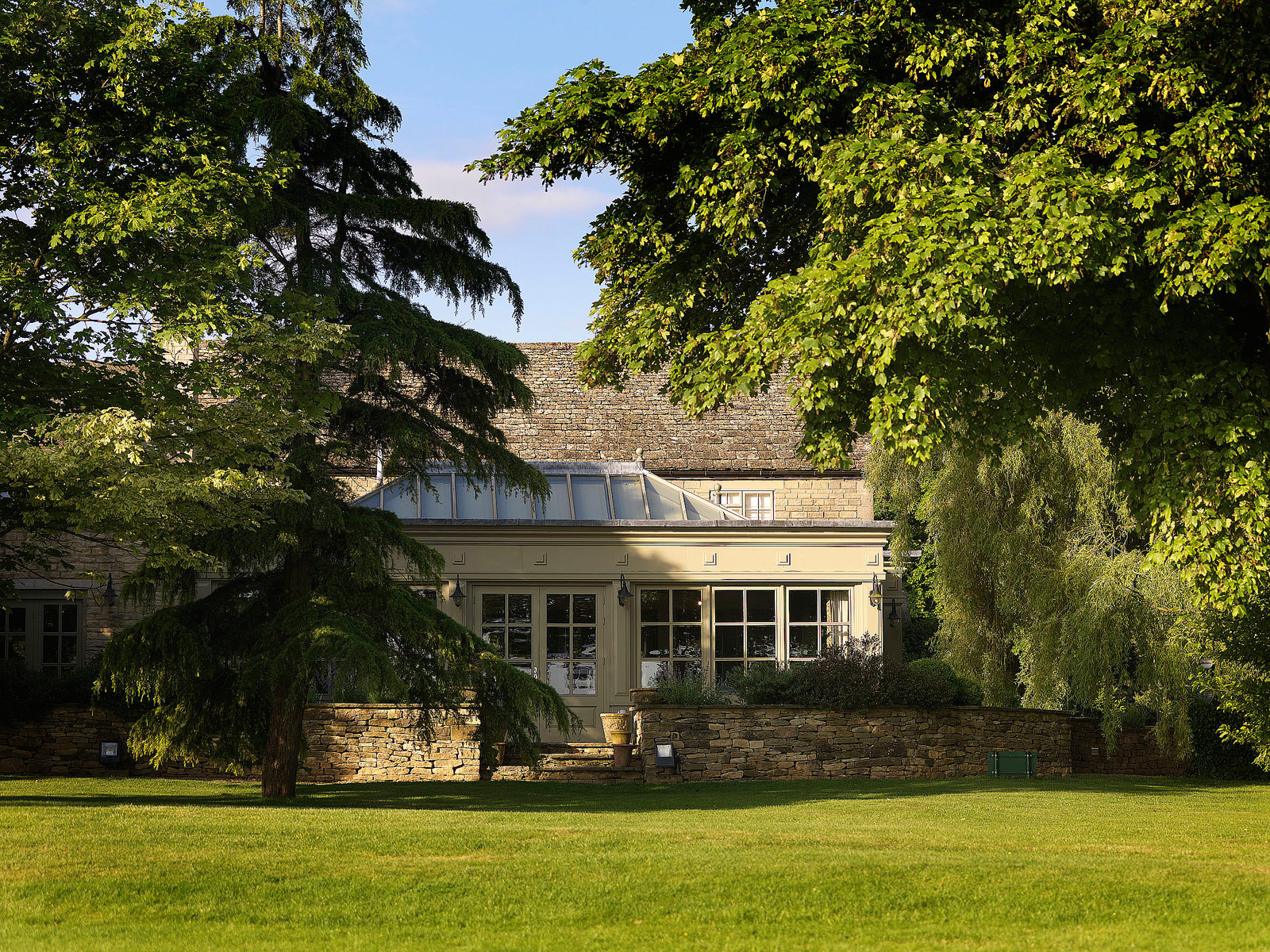 The conservatory restaurant at Calcot