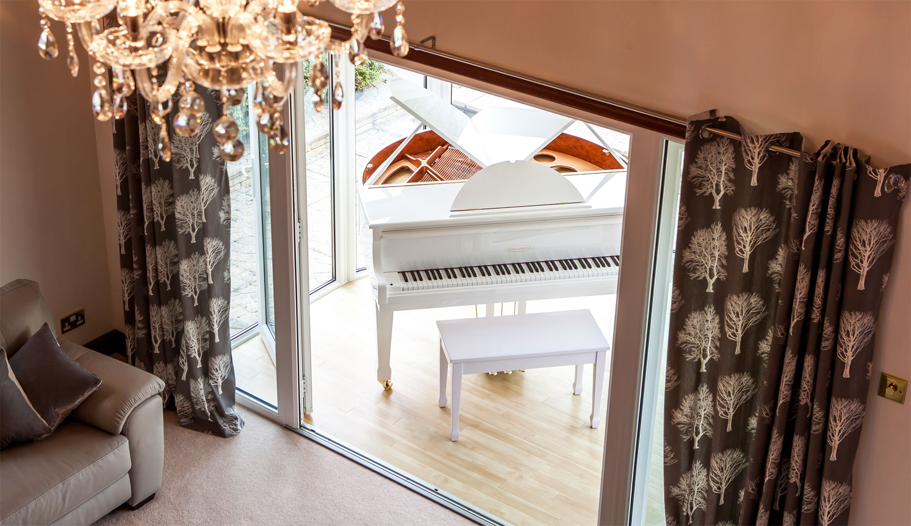 Edelweiss Lets You Tinkle With The Look Of Their Self-Playing Pianos