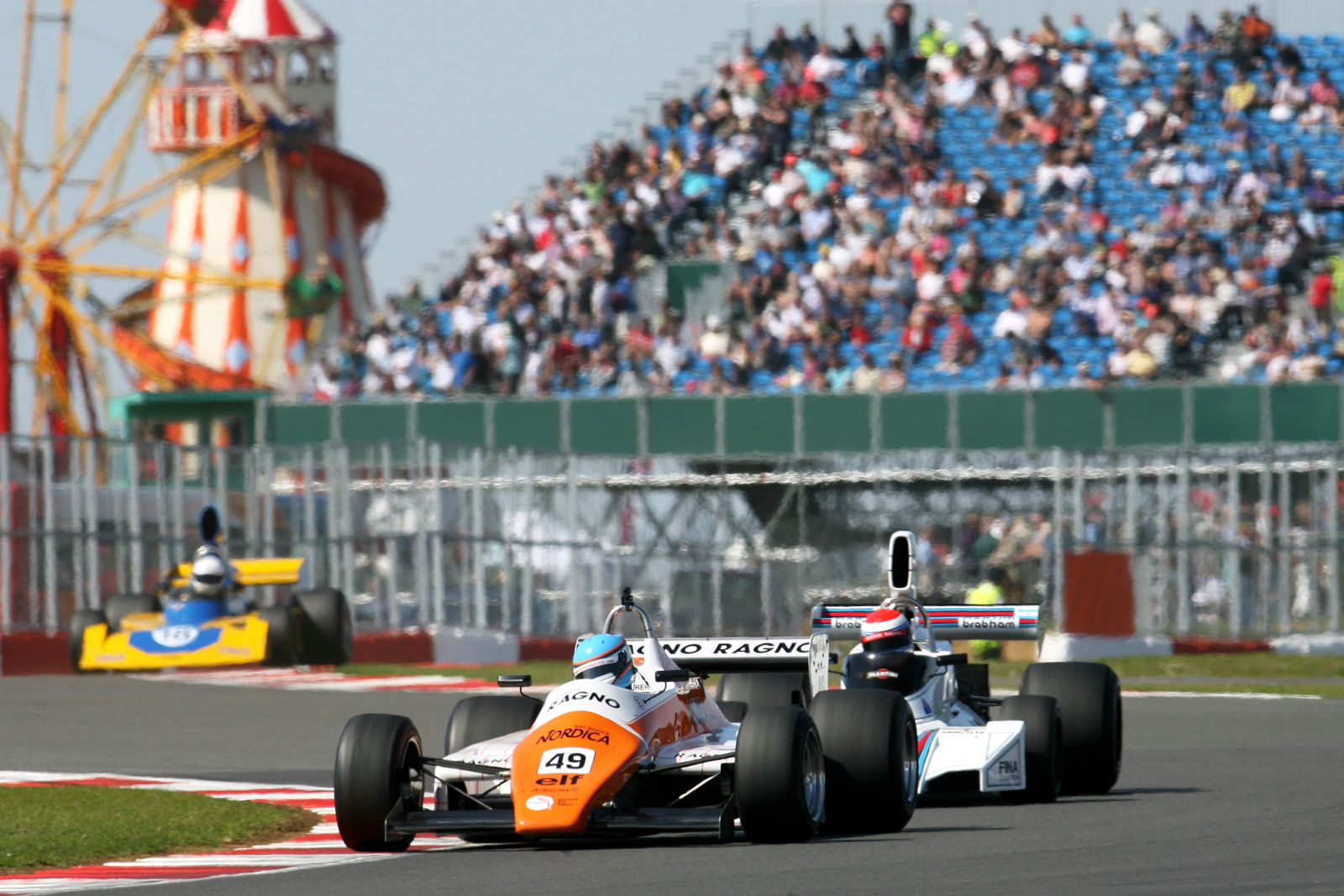 FIA Masters Historic Formula One race Silverstone