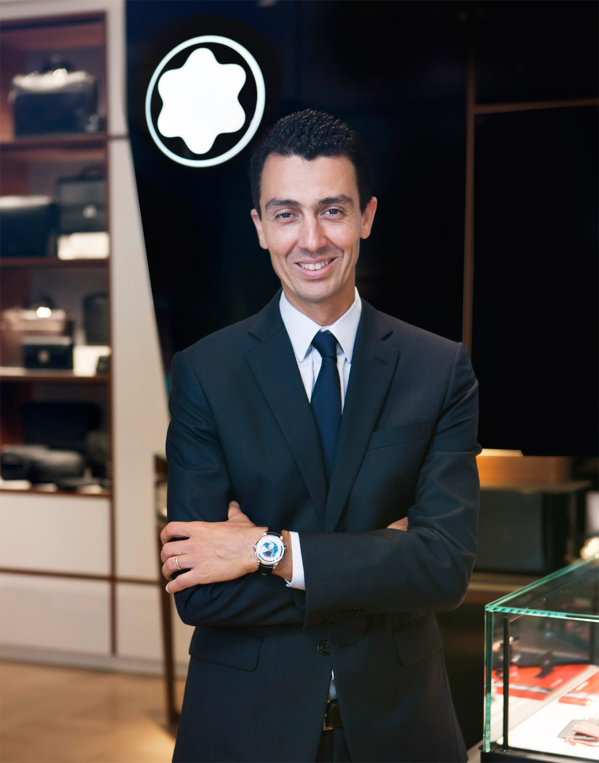 Julien Renard, the President of Montblanc Asia Pacific