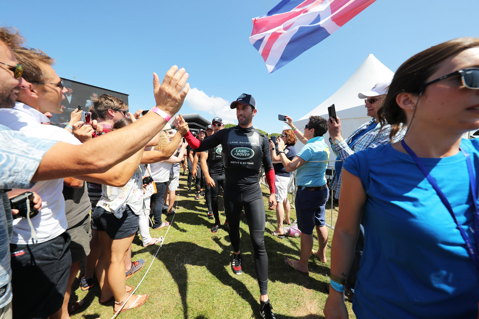 Home Victory For Sir Ben Ainslie's Sailing Team And Land Rover BAR 6