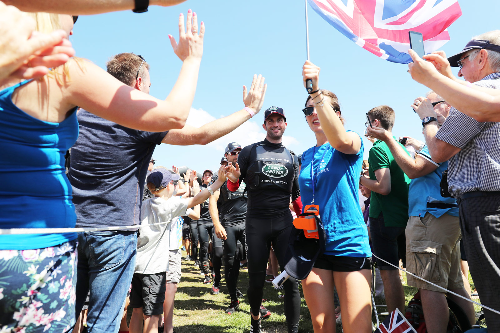 Home Victory For Sir Ben Ainslie's Sailing Team And Land Rover BAR