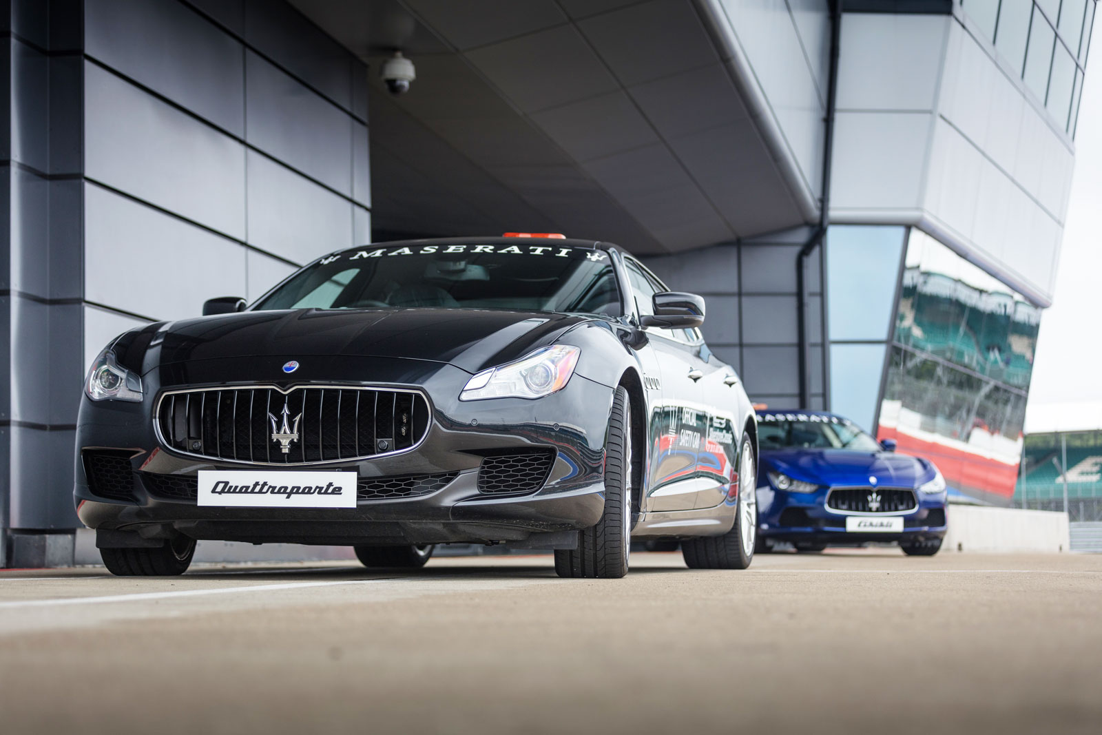 Maserati Official Pace Car at Silverstone