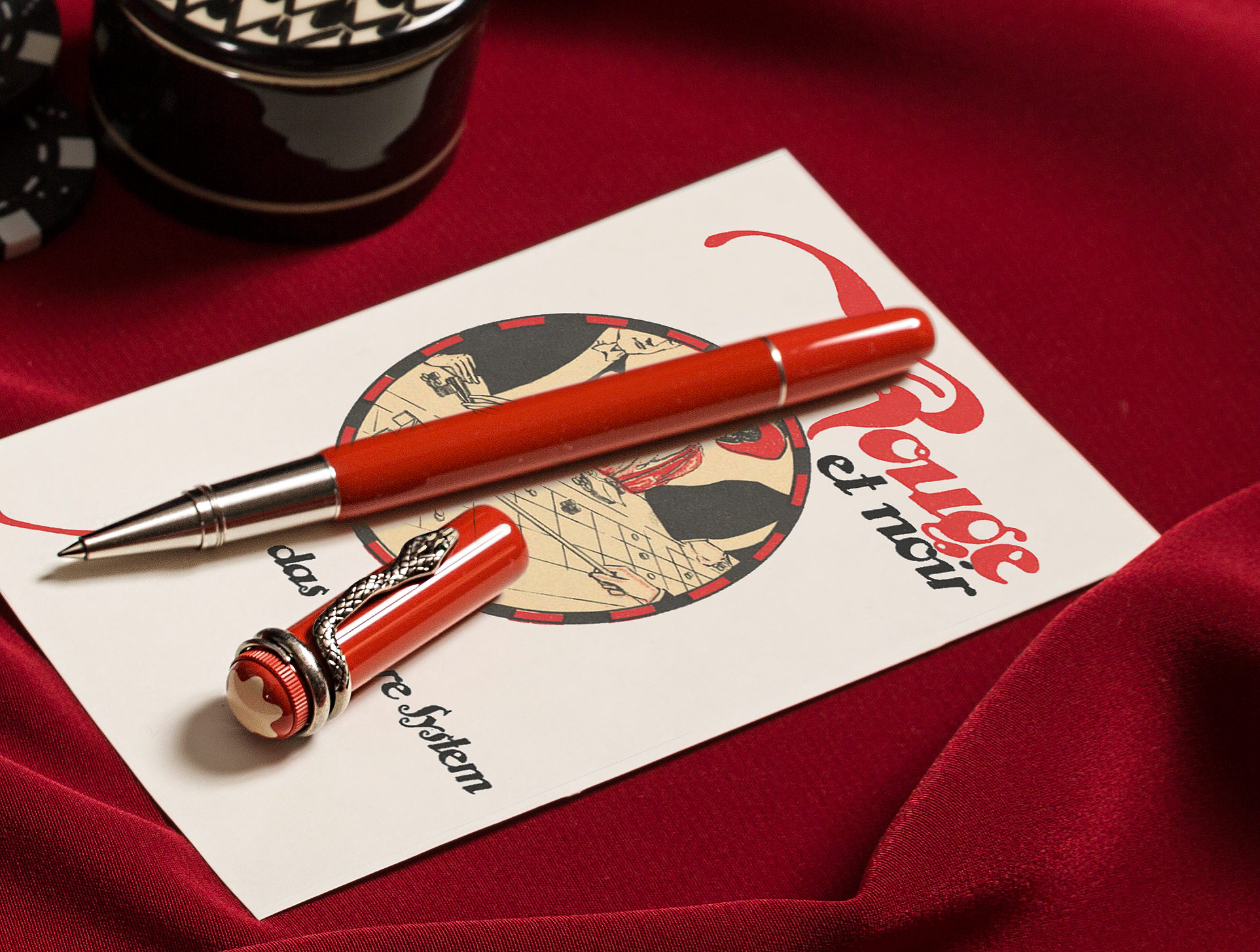 Montblanc Heritage Collection Rouge & Noir Special Edition