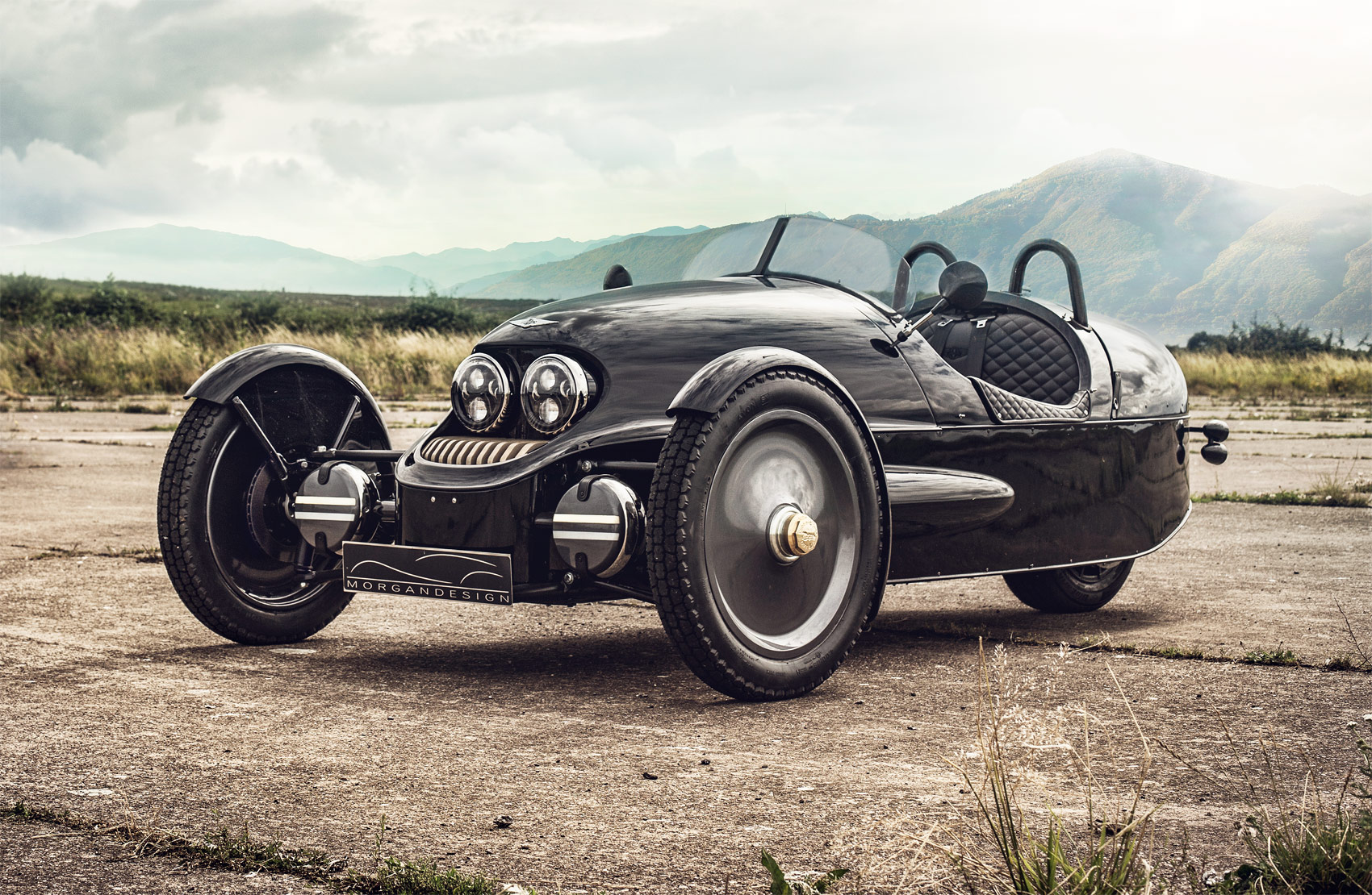 Morgan 1909 Edition EV3 – An Iconic Design With Selfridges' Flair For Fashion