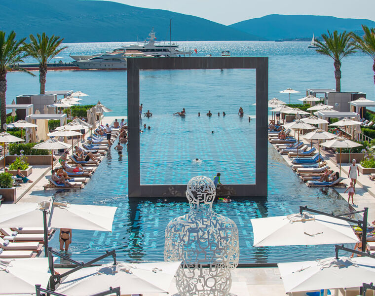 Porto Montenegro Yacht Club Pool Joins The Ranks Of The World's Best