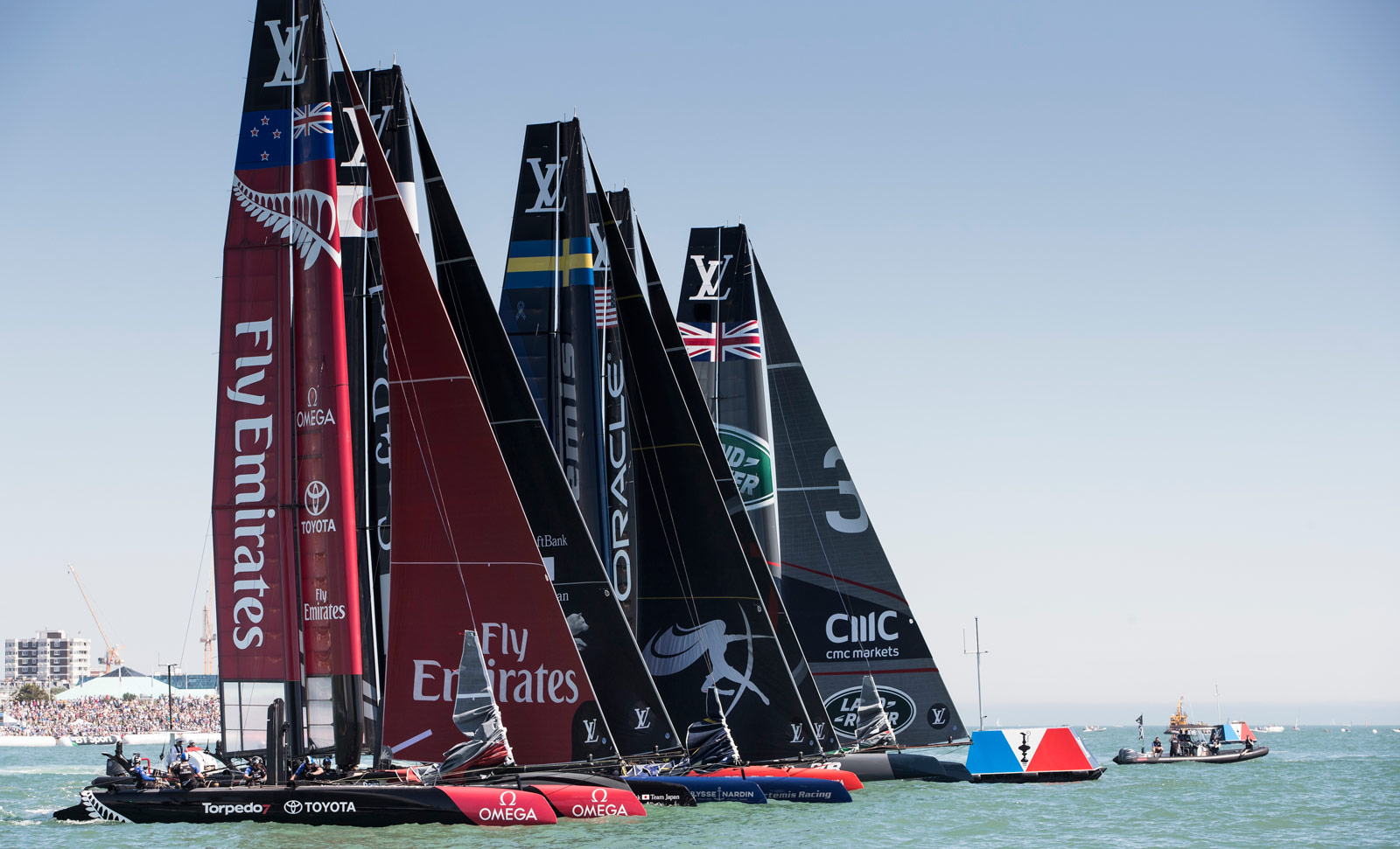 Home Victory For Sir Ben Ainslie's Sailing Team And Land Rover BAR 9