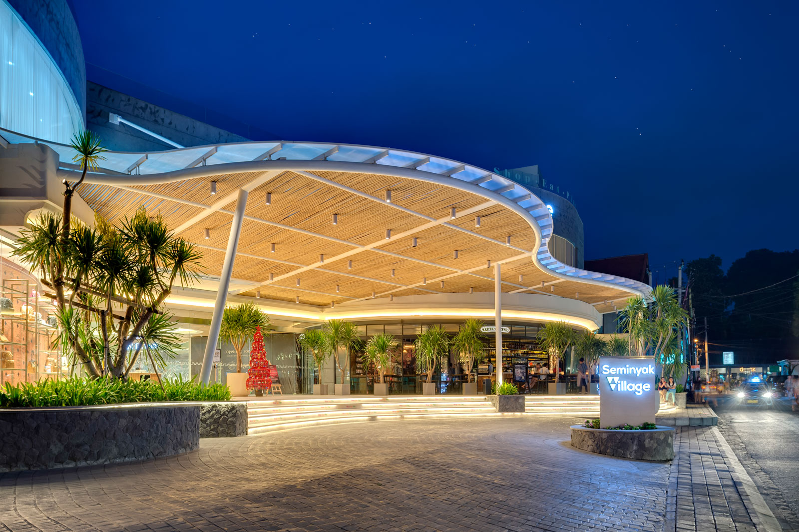 The Brand New Iconic Seminyak Village Shopping Mall In Bali
