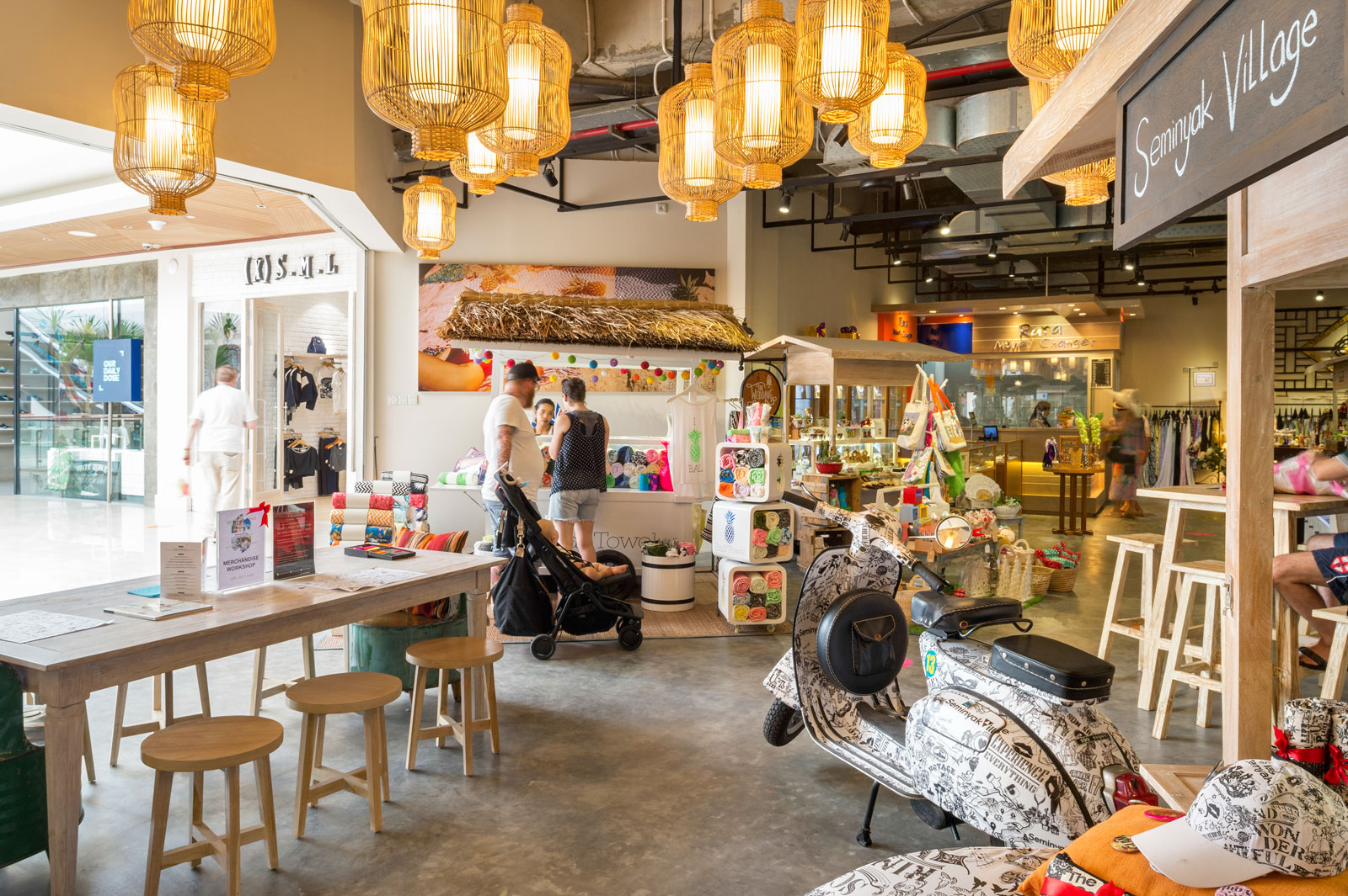 The brand new iconic seminyak village shopping mall in bali for Top ten boutiques