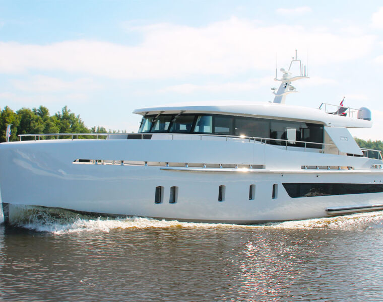 The All-new X-65 Monoyacht From Dutch Boat-builder StormYachts