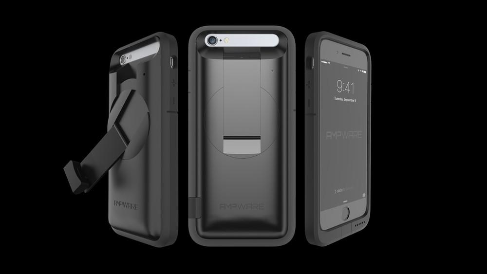 AMPware Power Generating iPhone Case