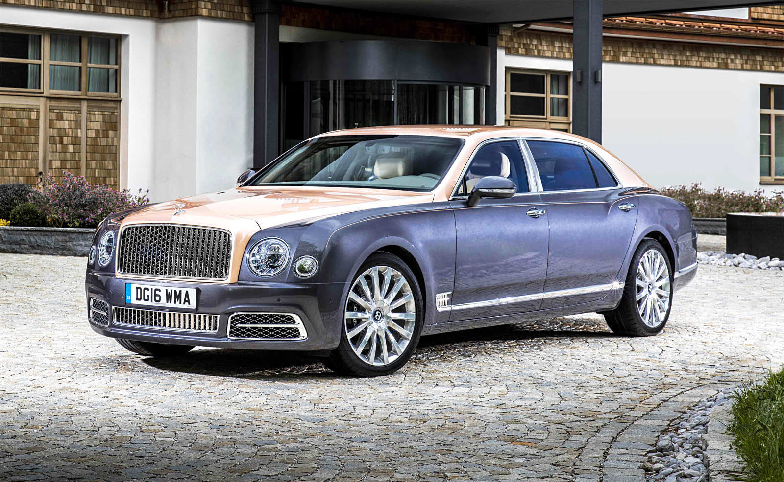 Bentley's Flagship Model, The Mulsanne Extended Wheelbase Heads To Monterey